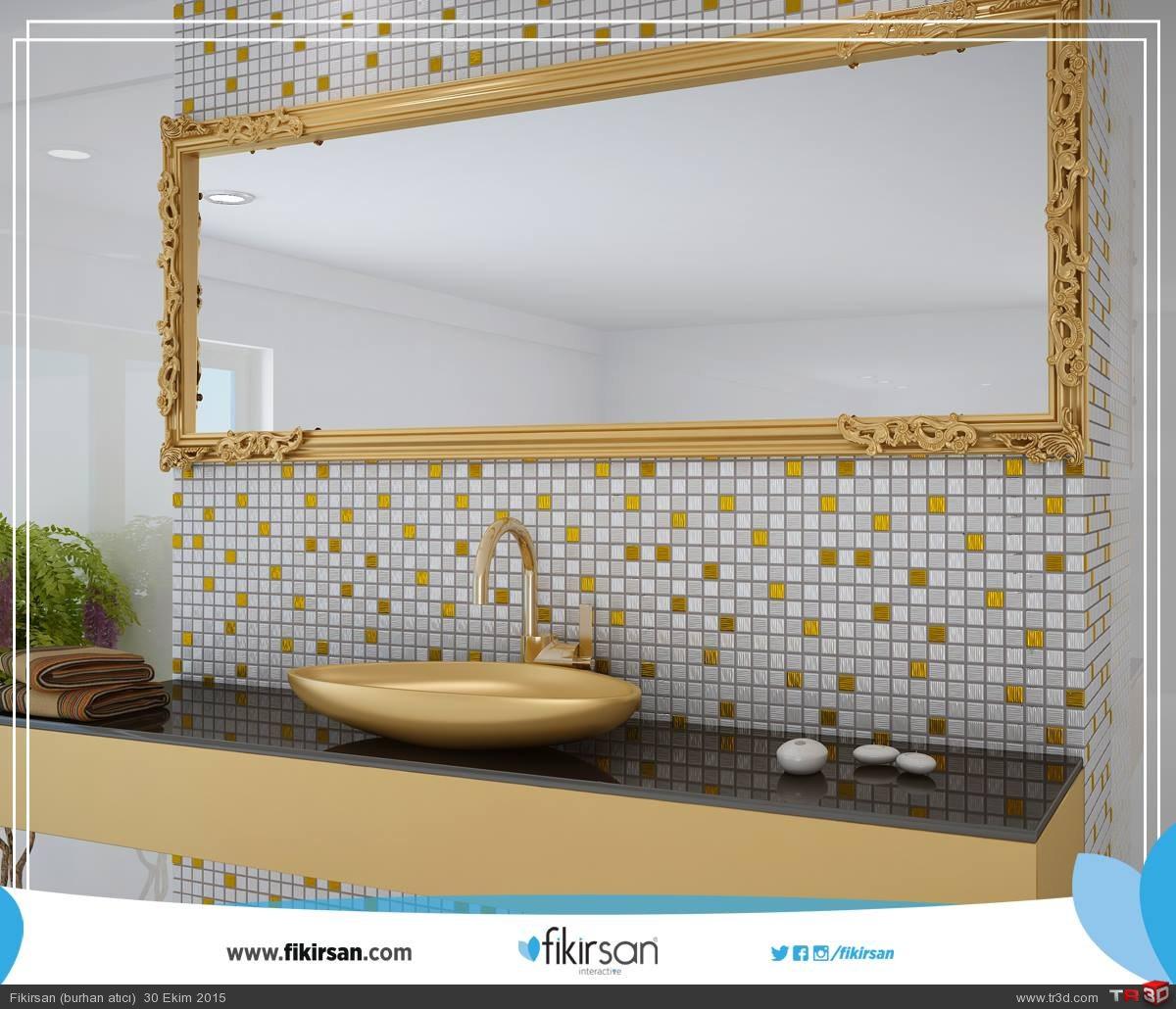 3d Mozaik ve Seramik Modellmesi ve Mekan tasarımı 2