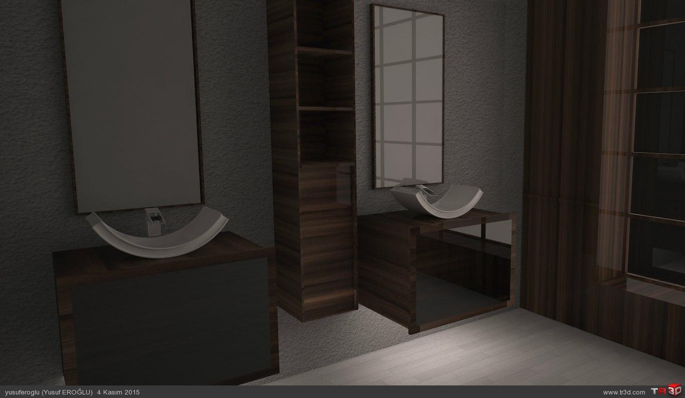 banyo dolabı  1