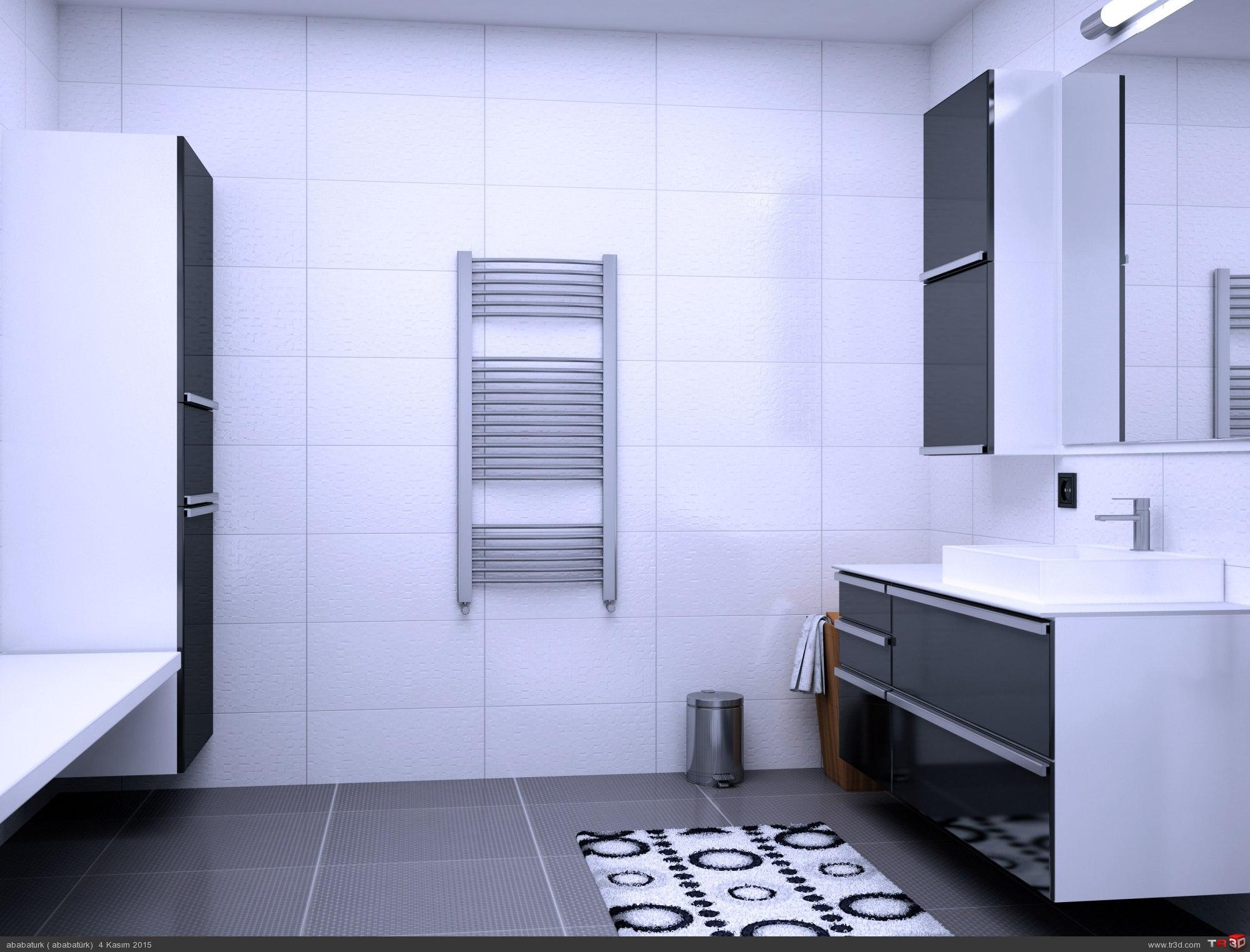 siyah beyaz banyo 1