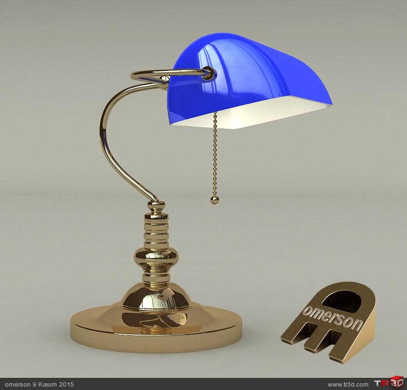 BANKERS LAMP 2