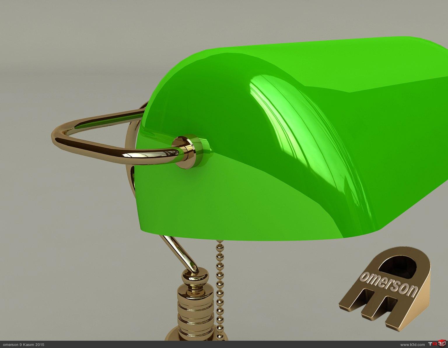 BANKERS LAMP 3