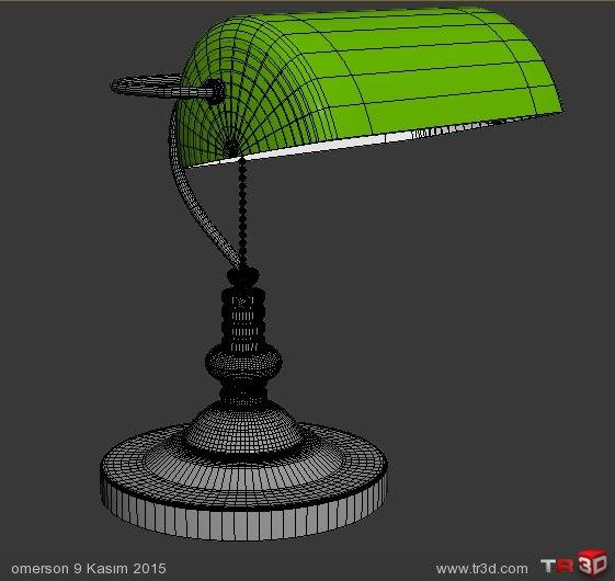 BANKERS LAMP 4
