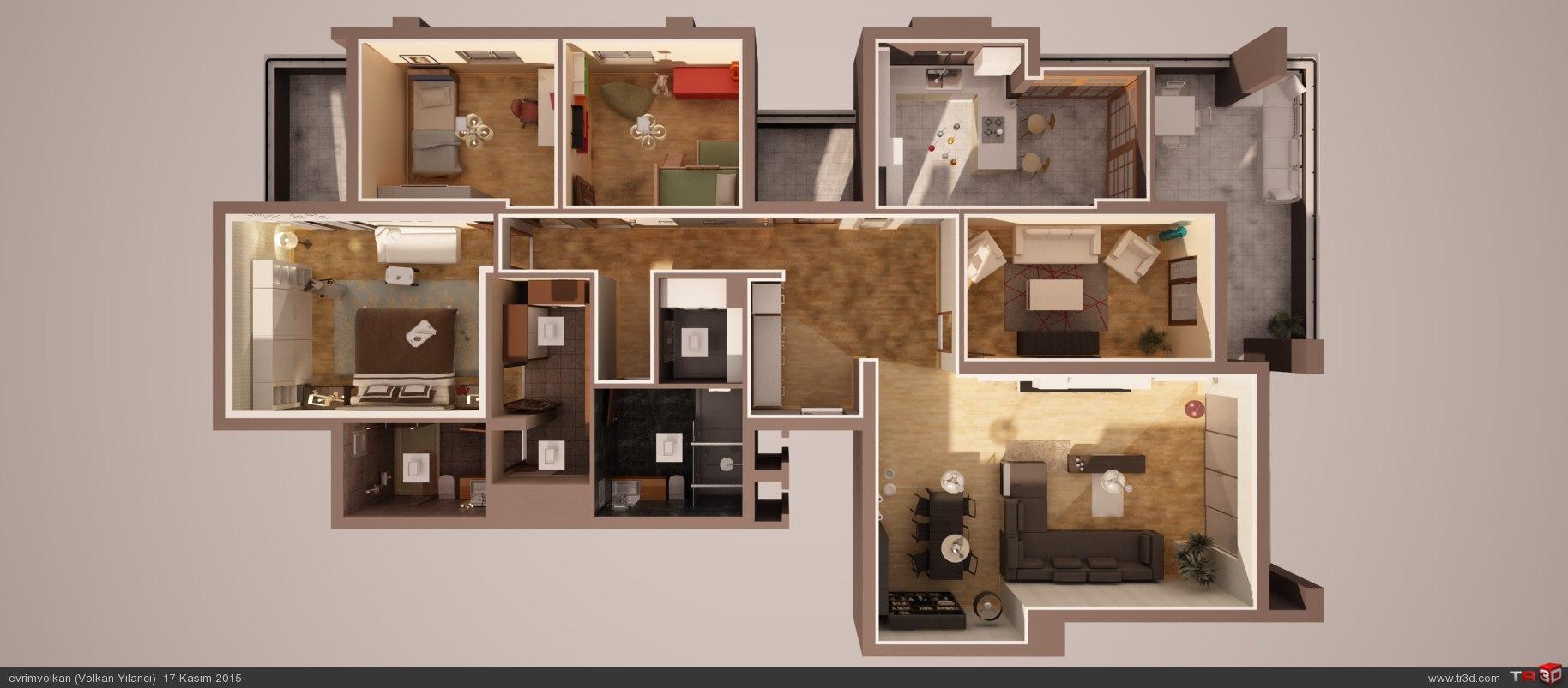 Örnek daire  5
