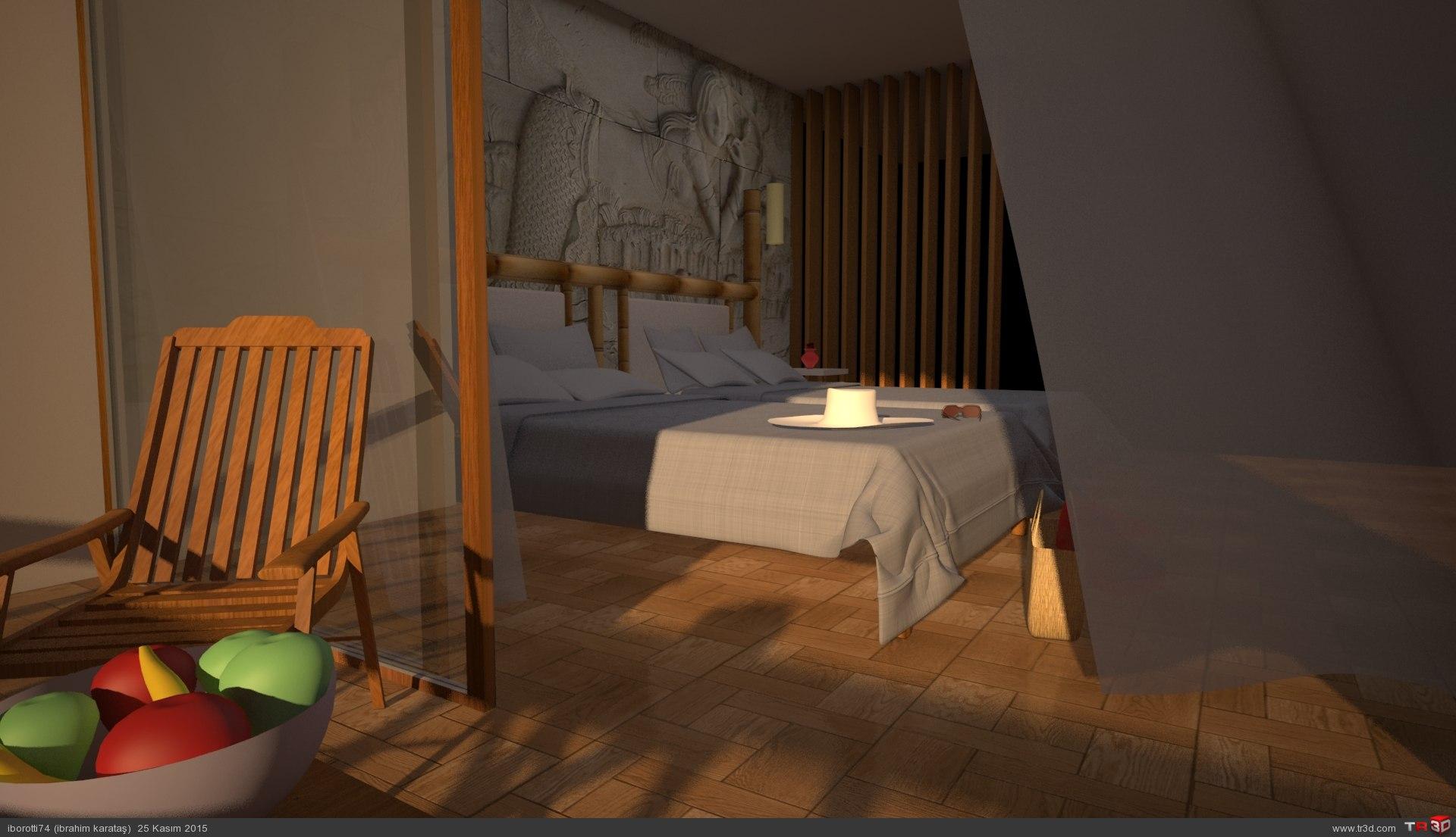 Otel odası 3