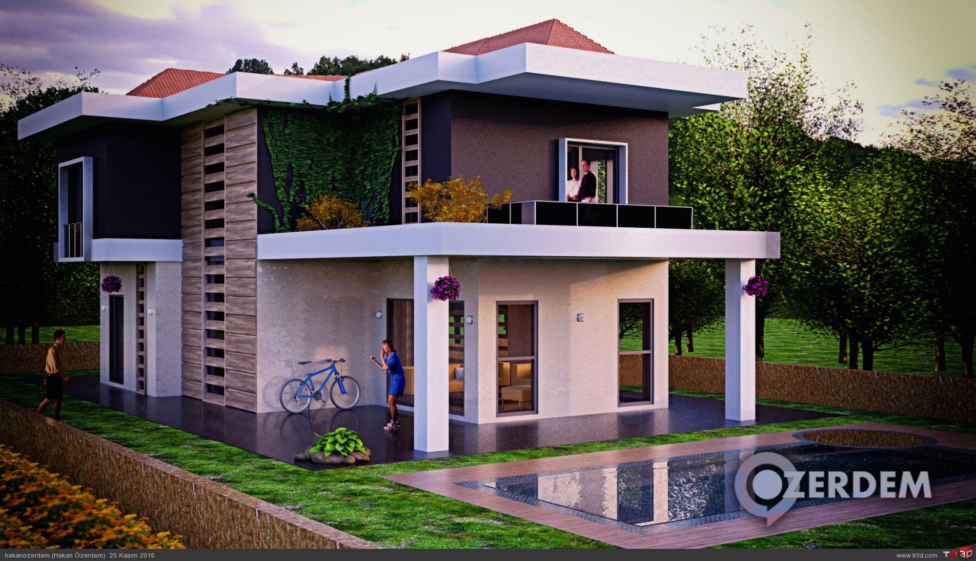 Çeşme Villa Projesi 1
