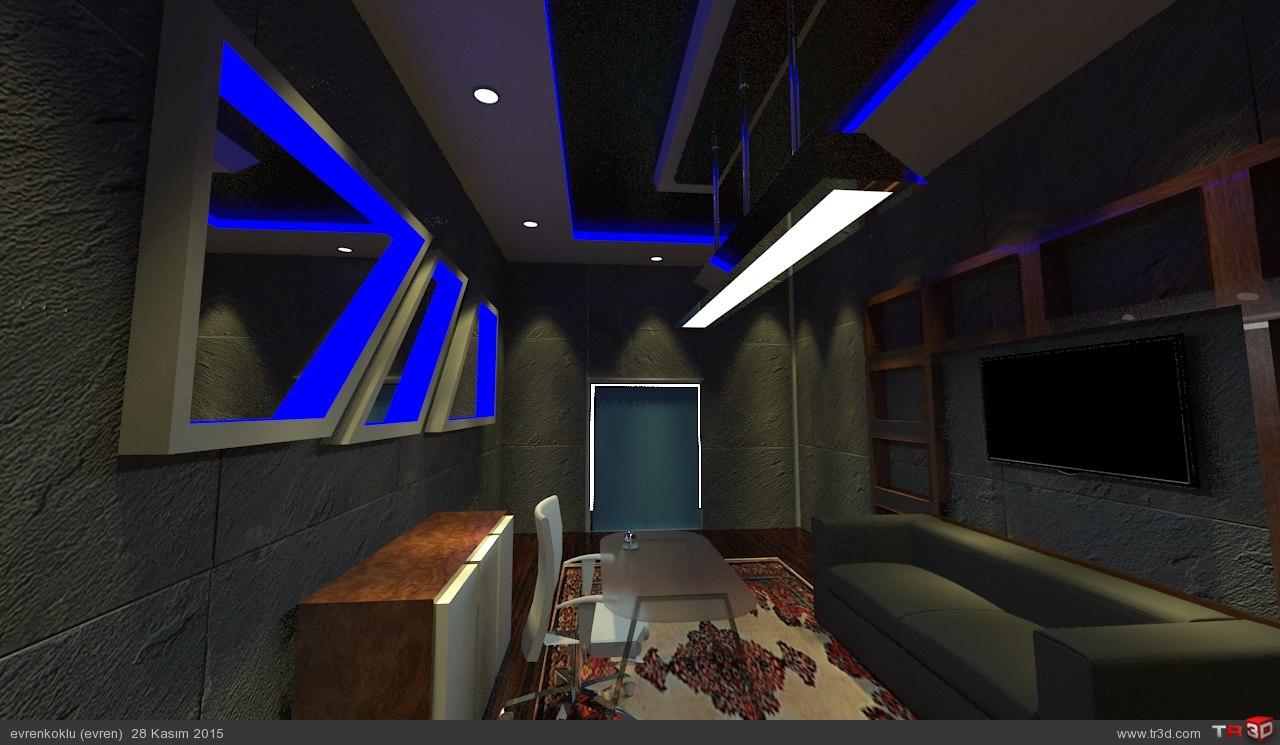 ofis tasarımı projesi 1