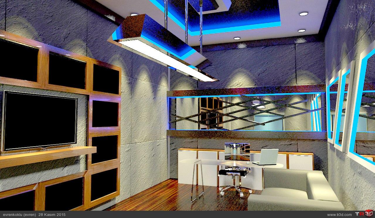 ofis tasarımı projesi 2