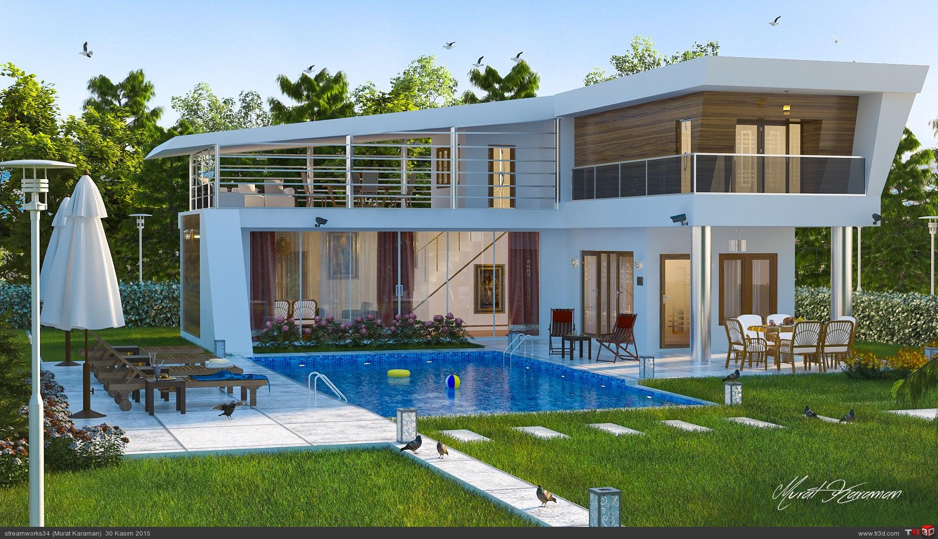 Villa Proje Denemesi 1