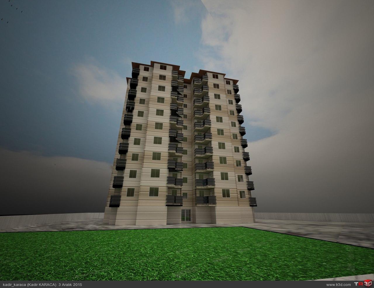 10 Katlı Bina