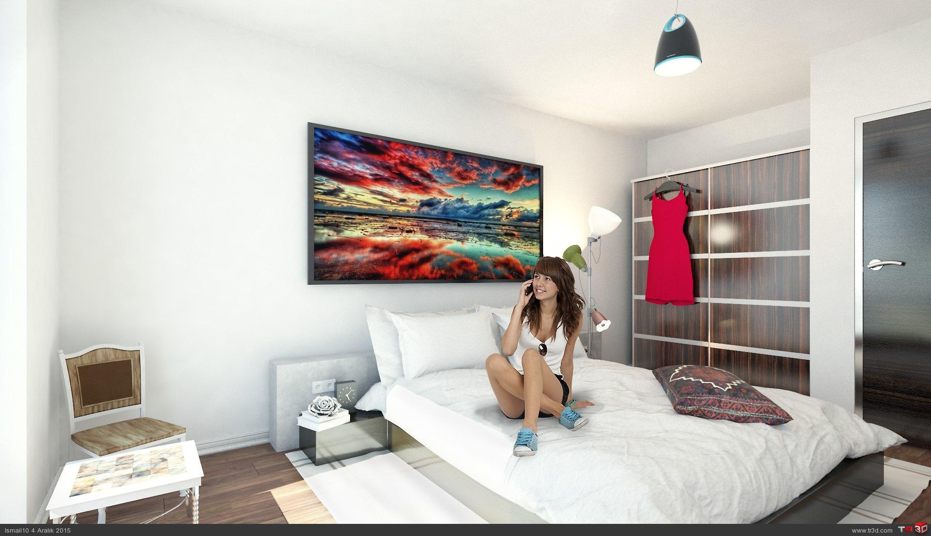 Almanya`da 17 daireli bina - ic mekanlar 4