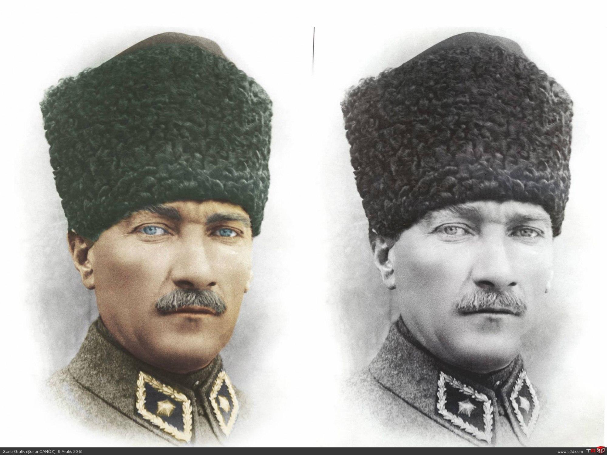 Atatürk Renklendirme Paylaşım