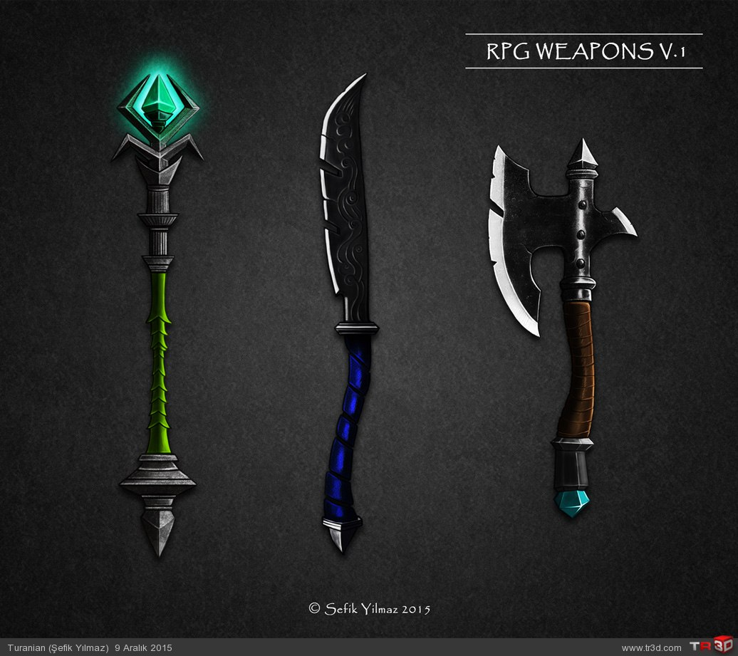 Fantastic RPG Weapons