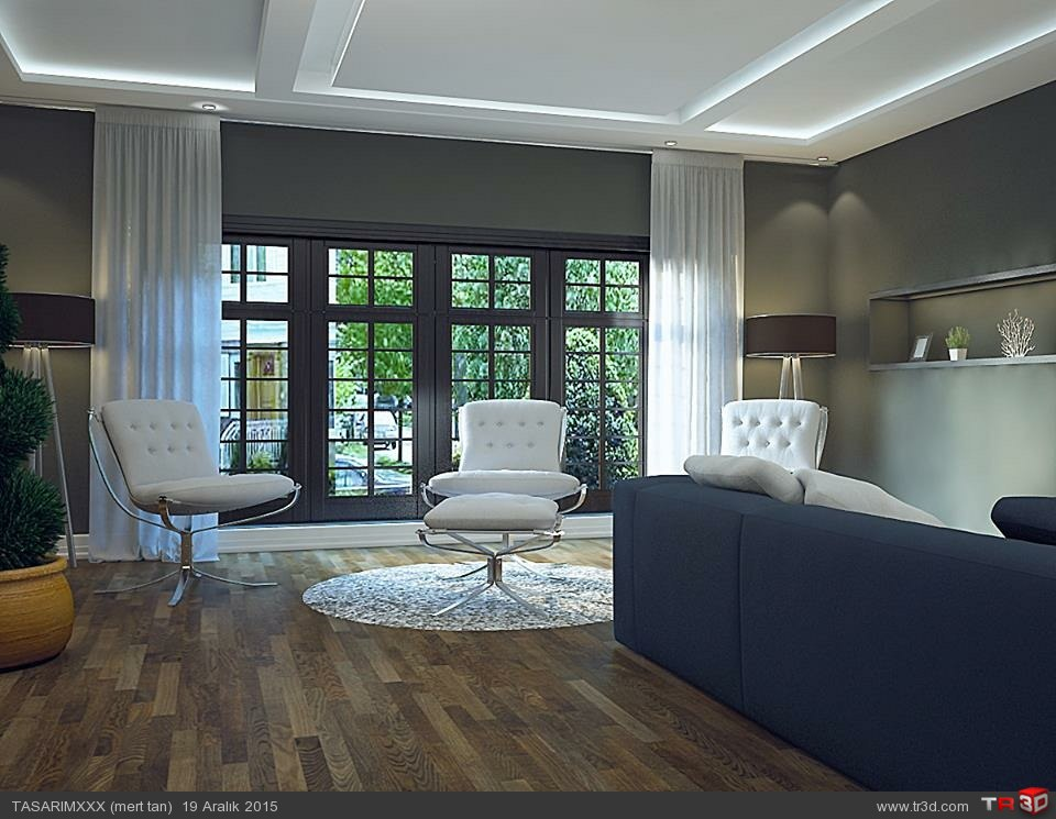 Mimari salon tasarımı 1