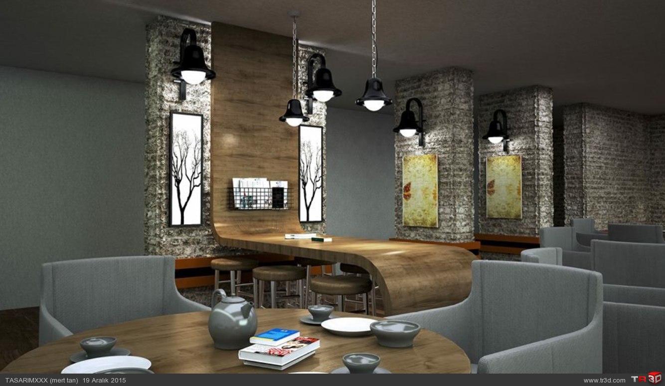Cafe renderi 2