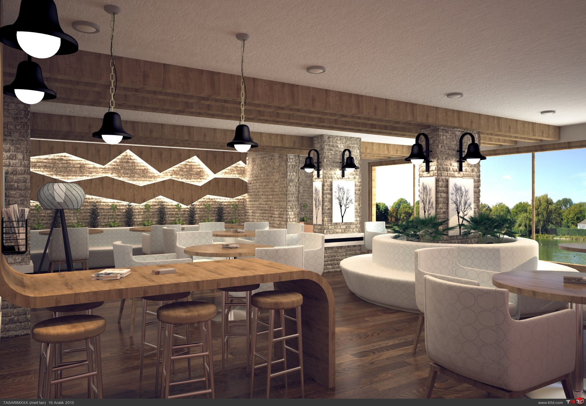 Cafe renderi 4