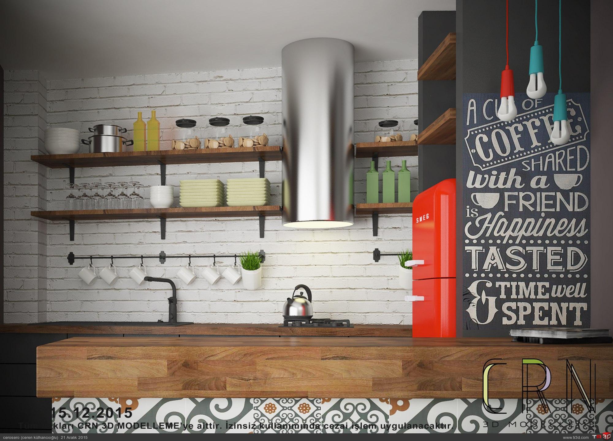 Çukurcuma Hostel-Mutfak