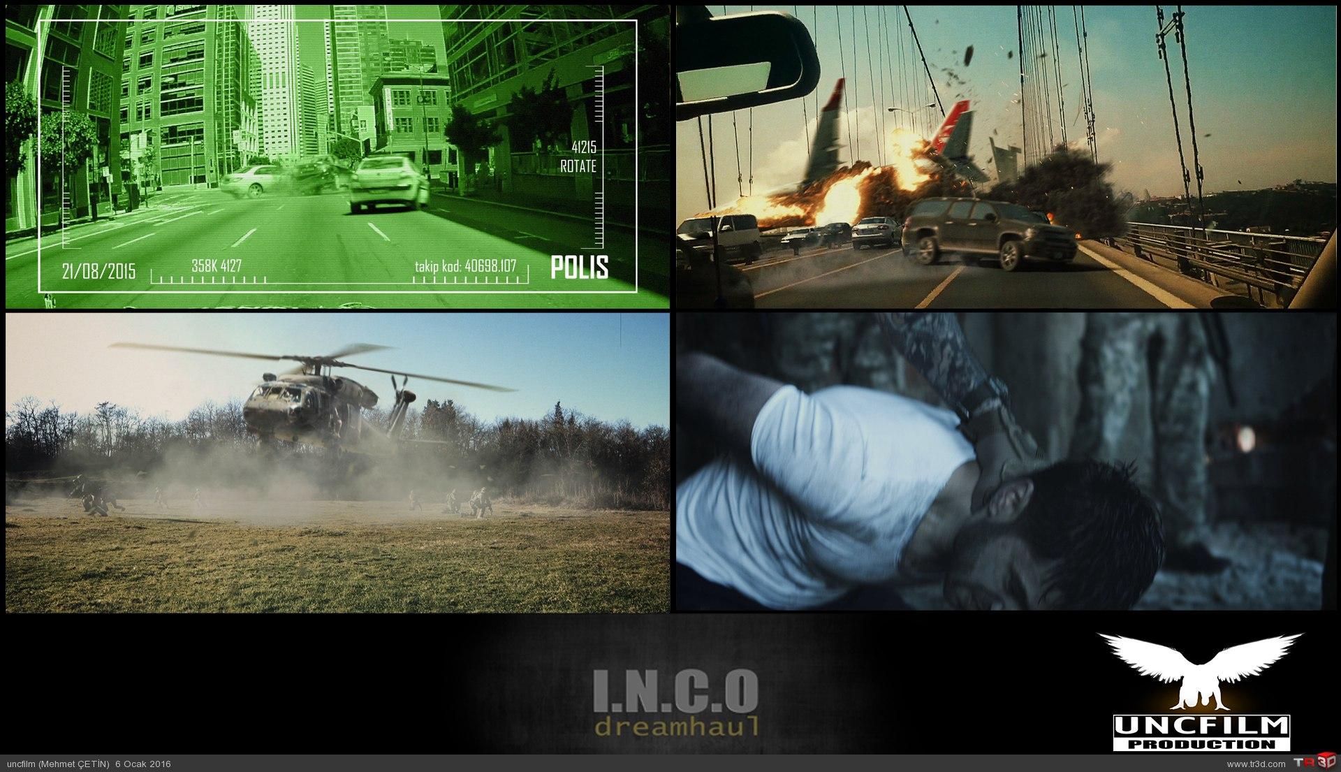 INCO Dreamhaul TV işi 2