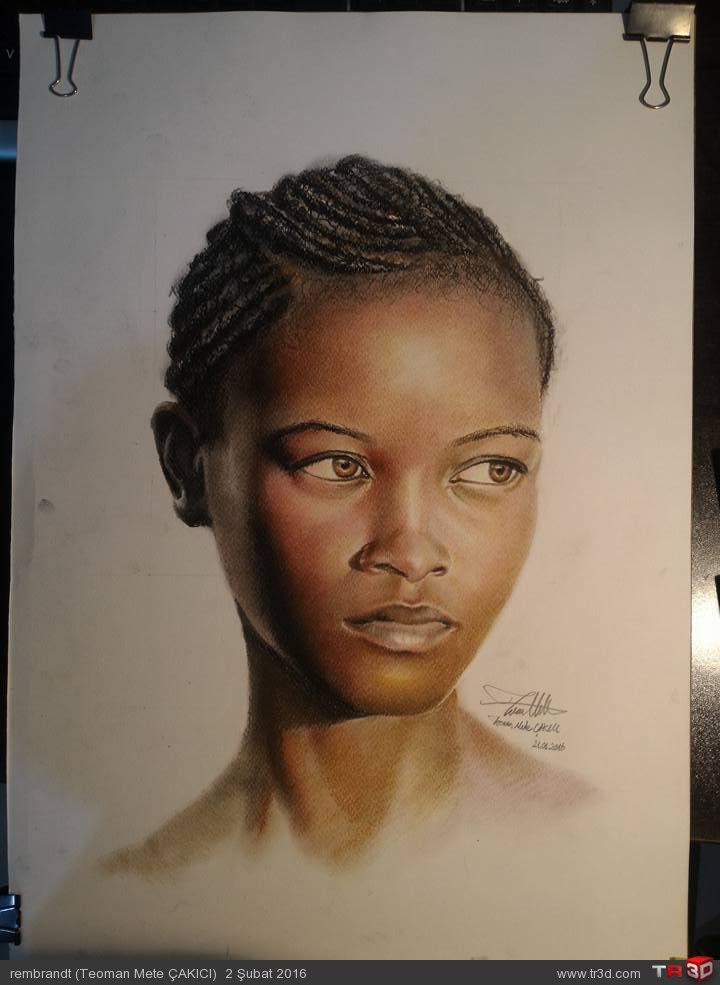 Afrikalı Kız