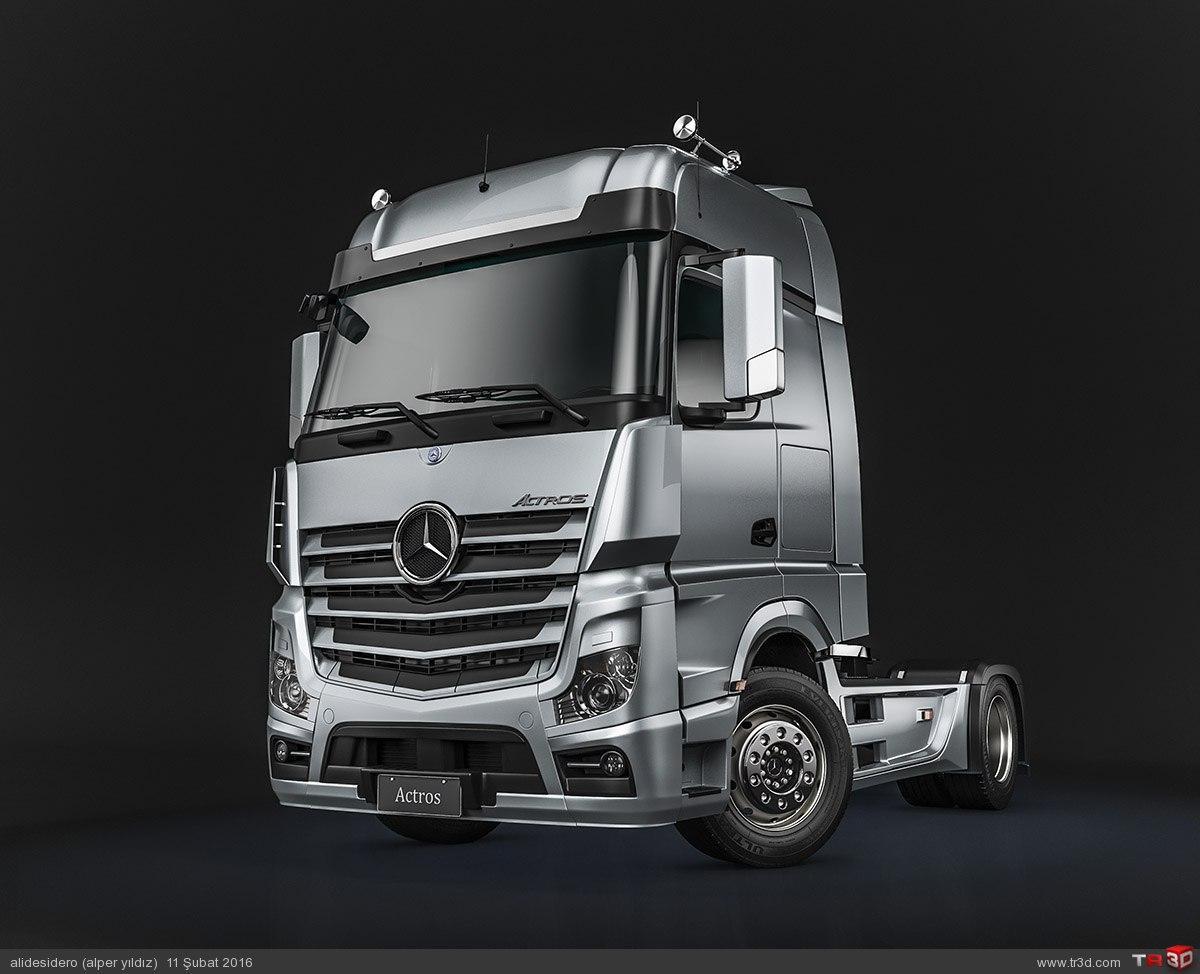 Mercedes Actros 1