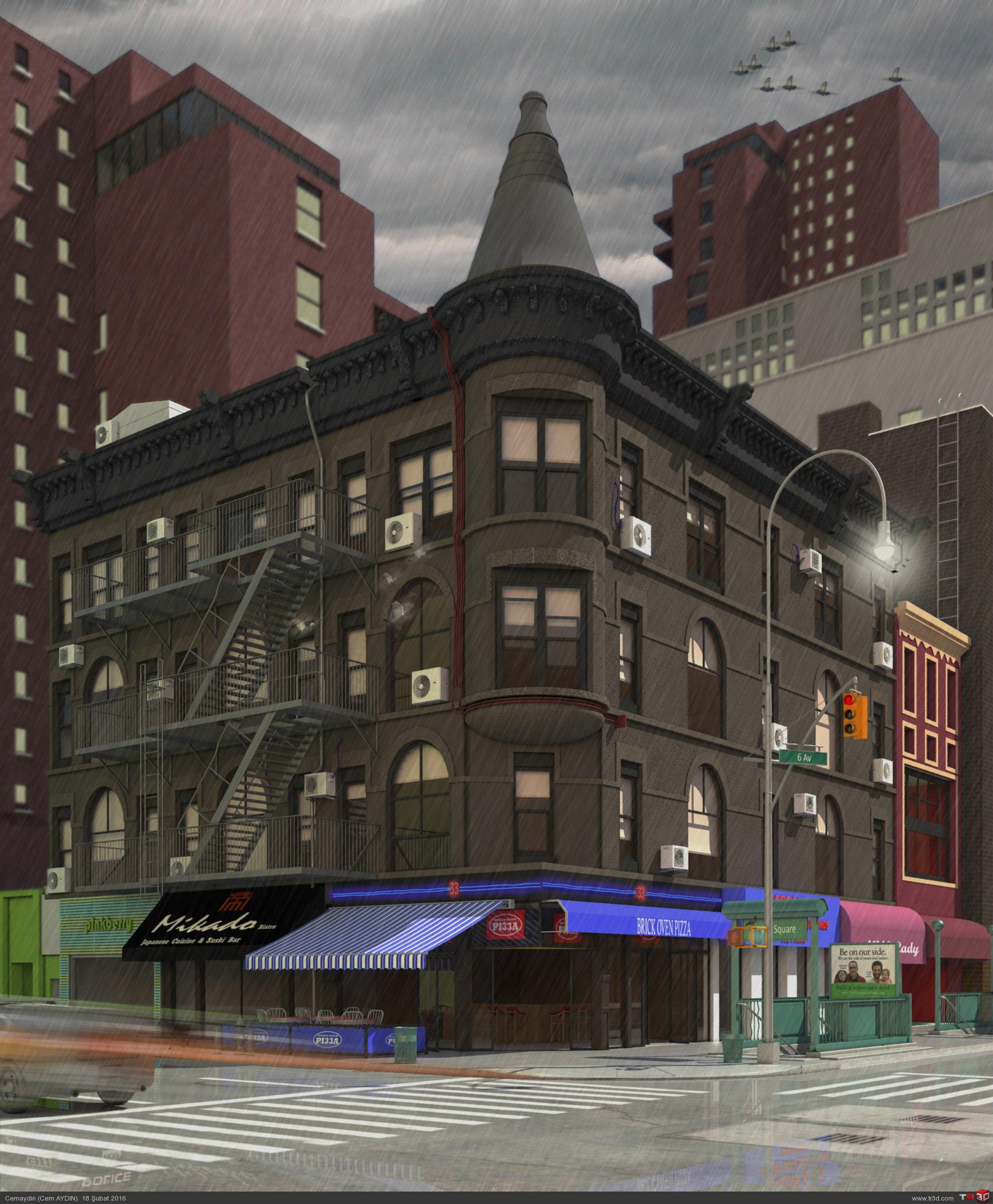 NYC - 6th av