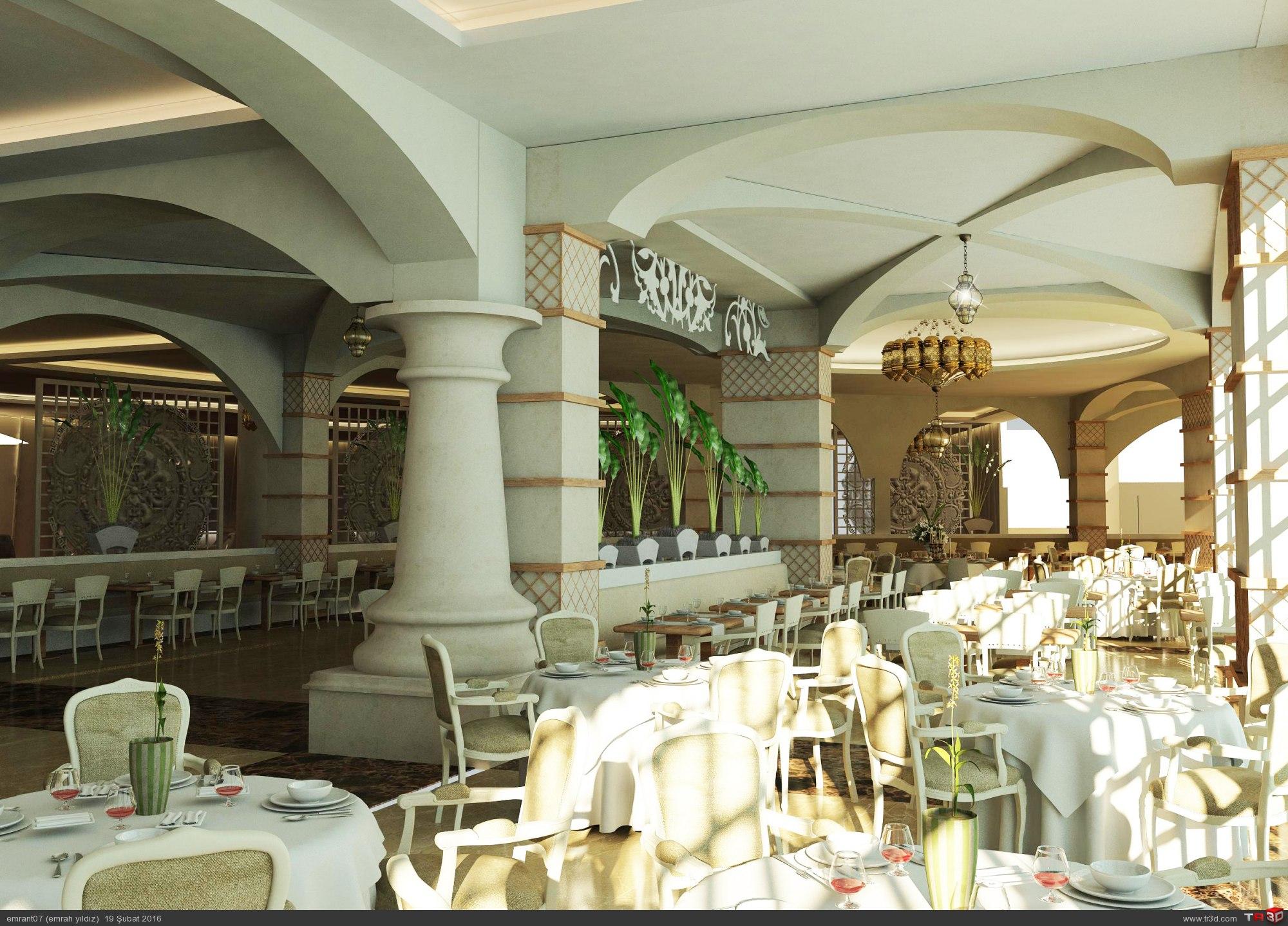 Alanya otel restaurant