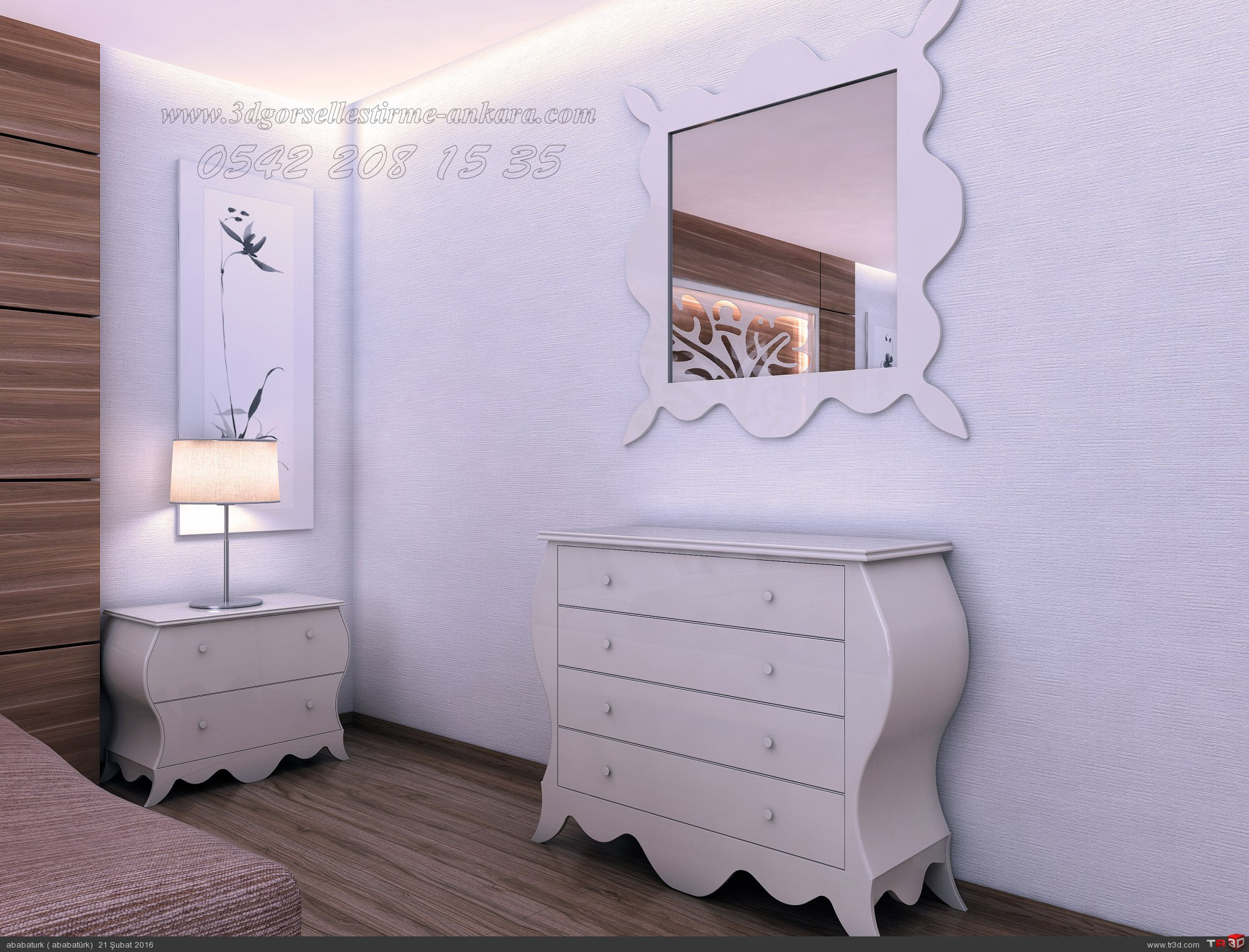 cauntry yatak odasi 2
