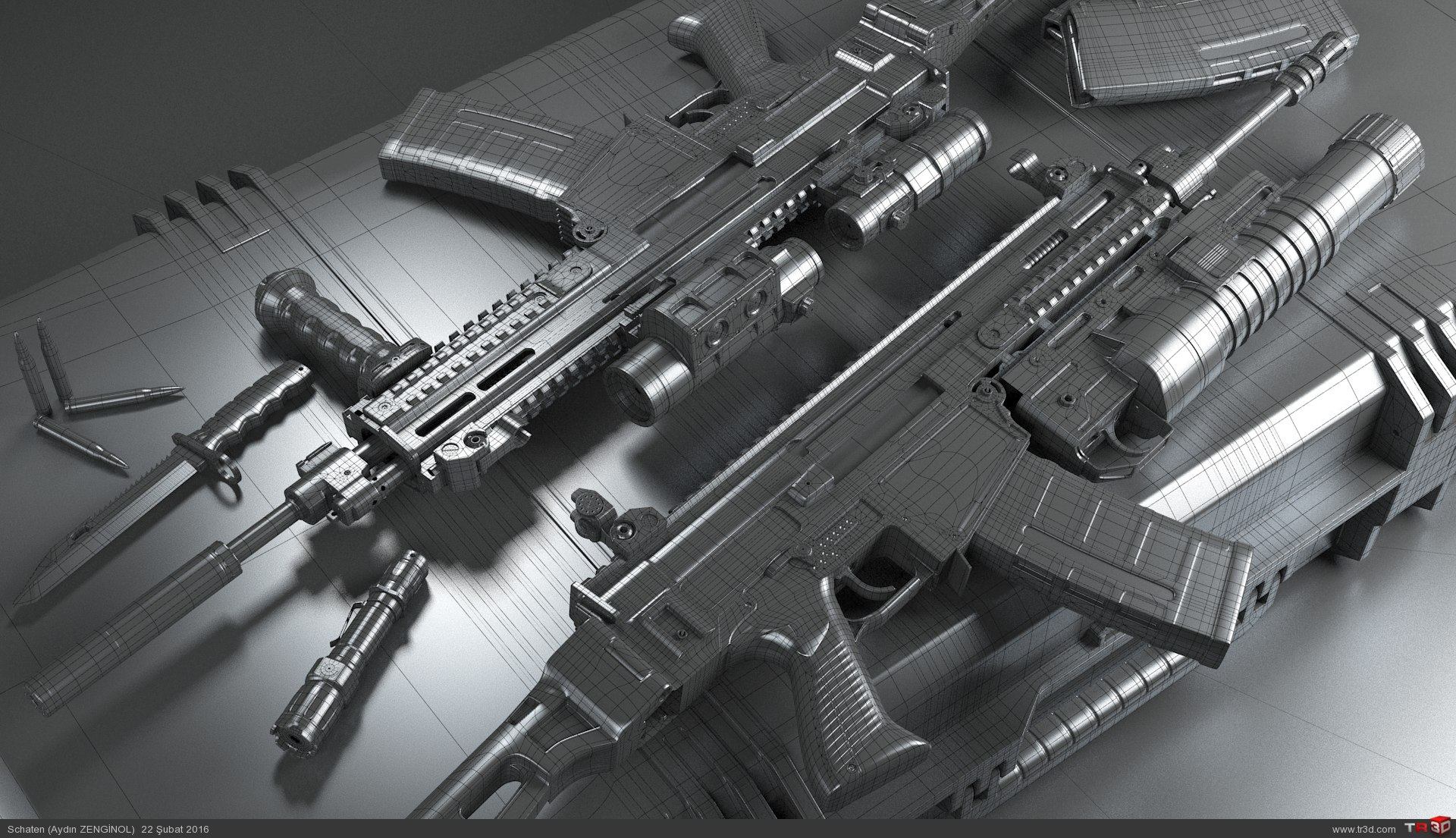CZ 805 Bren Assault Rifle 1