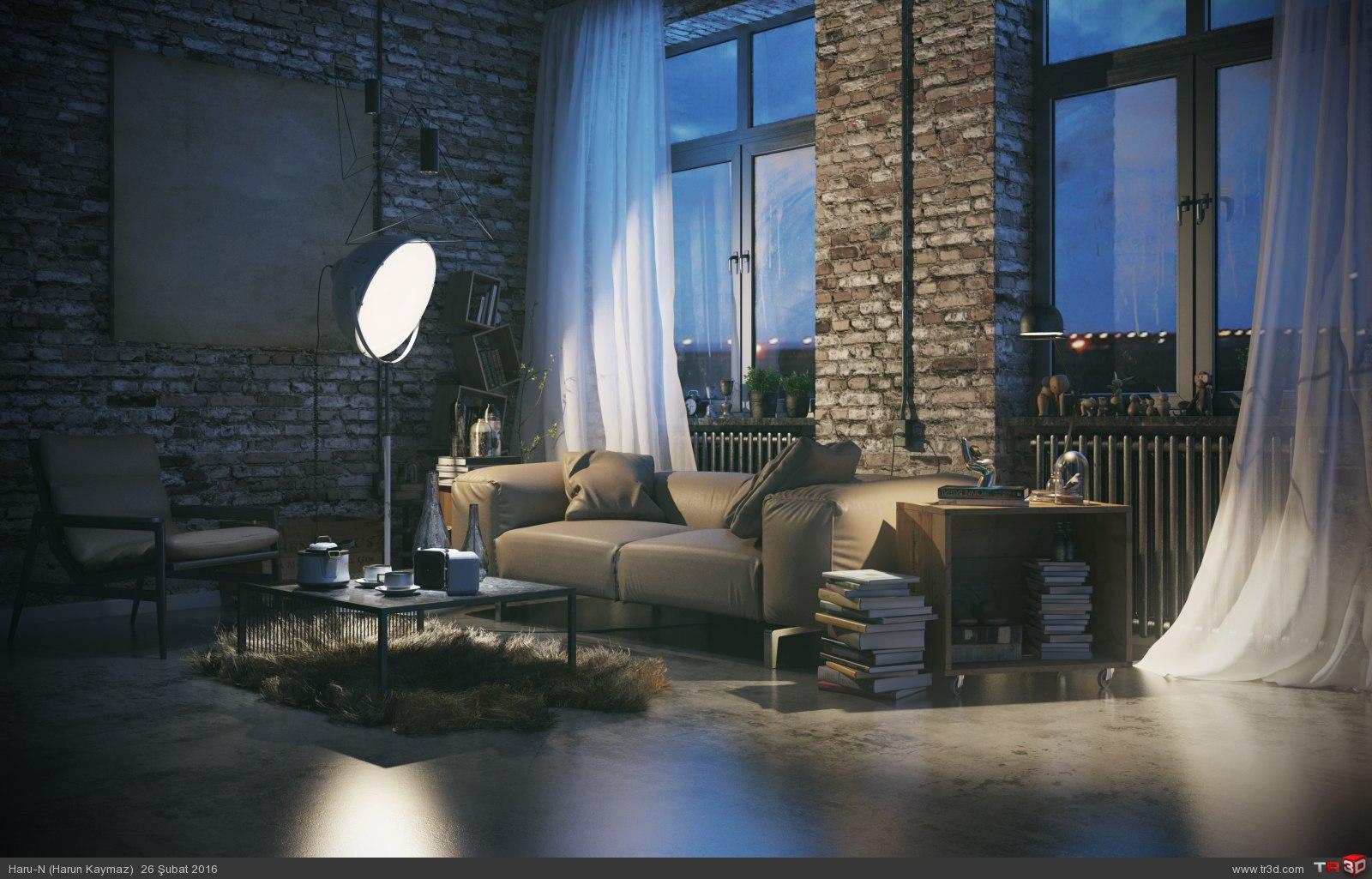 Loft Livingroom 1