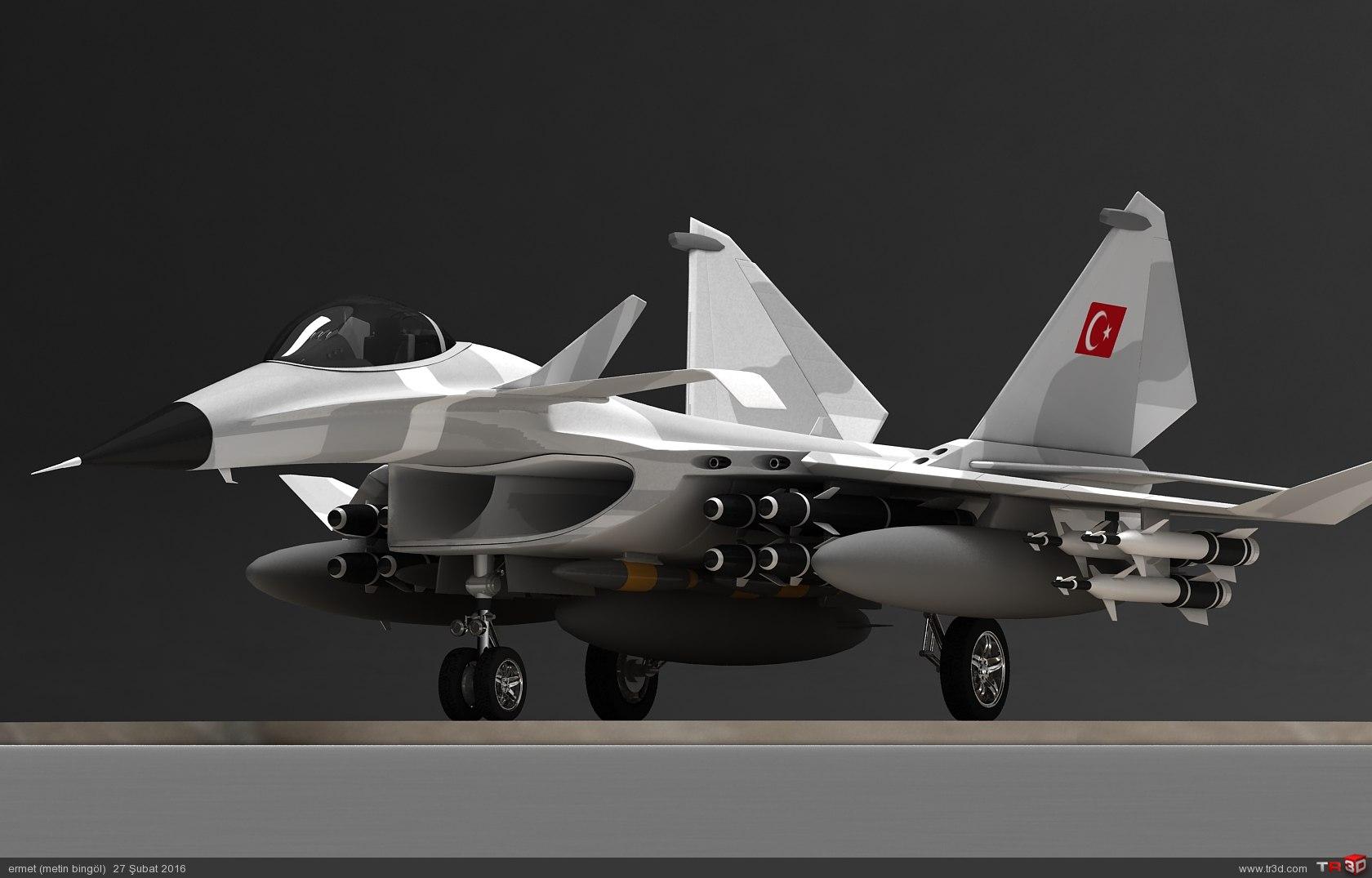 türk savaş uçağı metin serisi  (M 15)