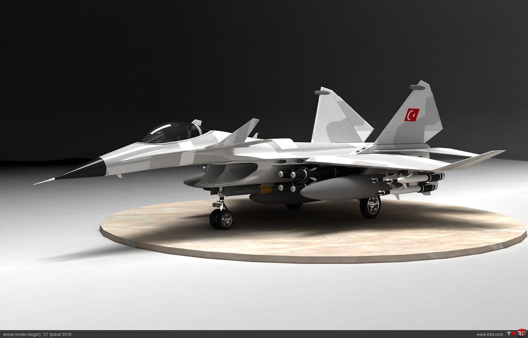 türk savaş uçağı metin serisi  (M 15) 1