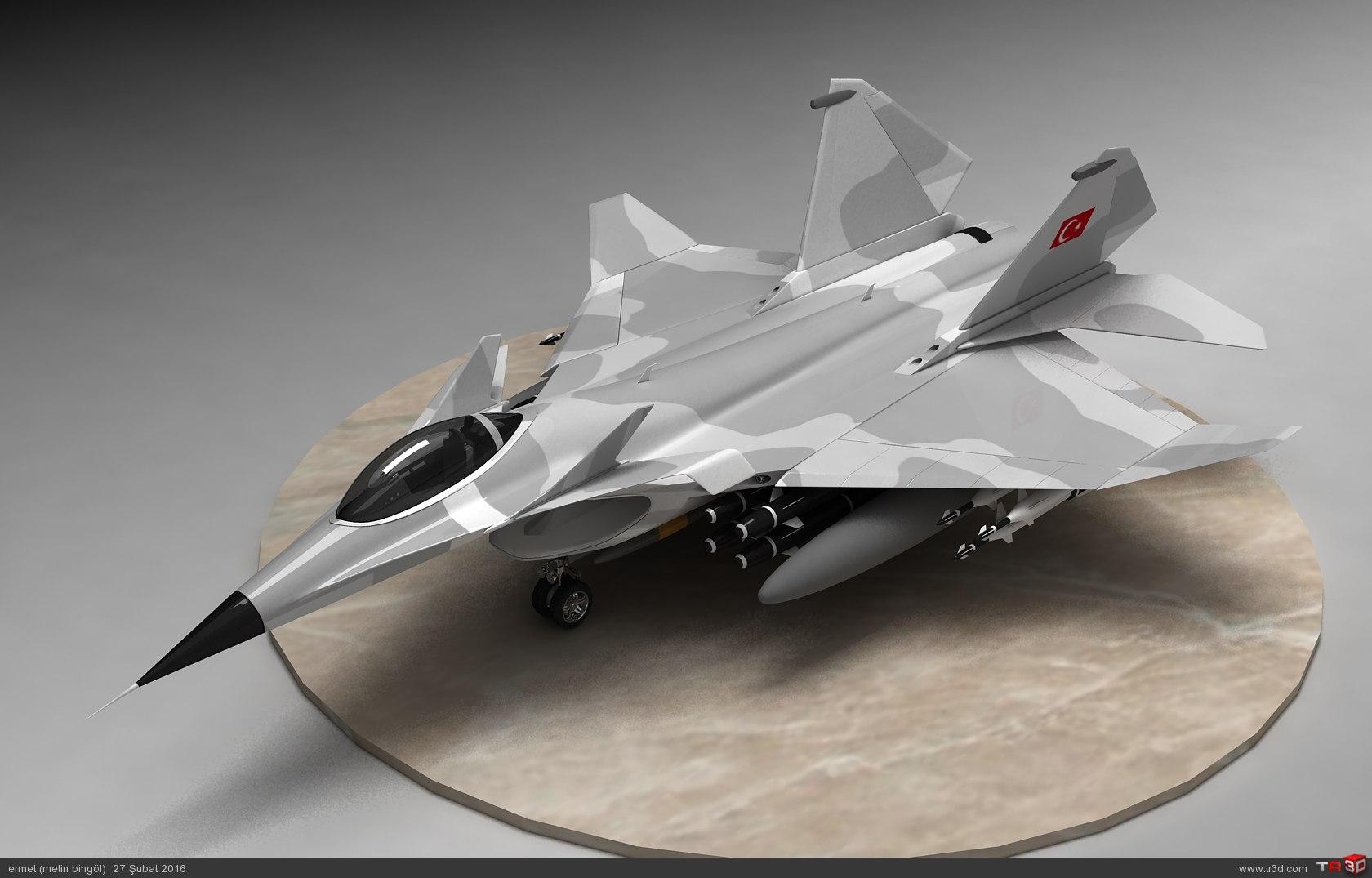 türk savaş uçağı metin serisi  (M 15) 2