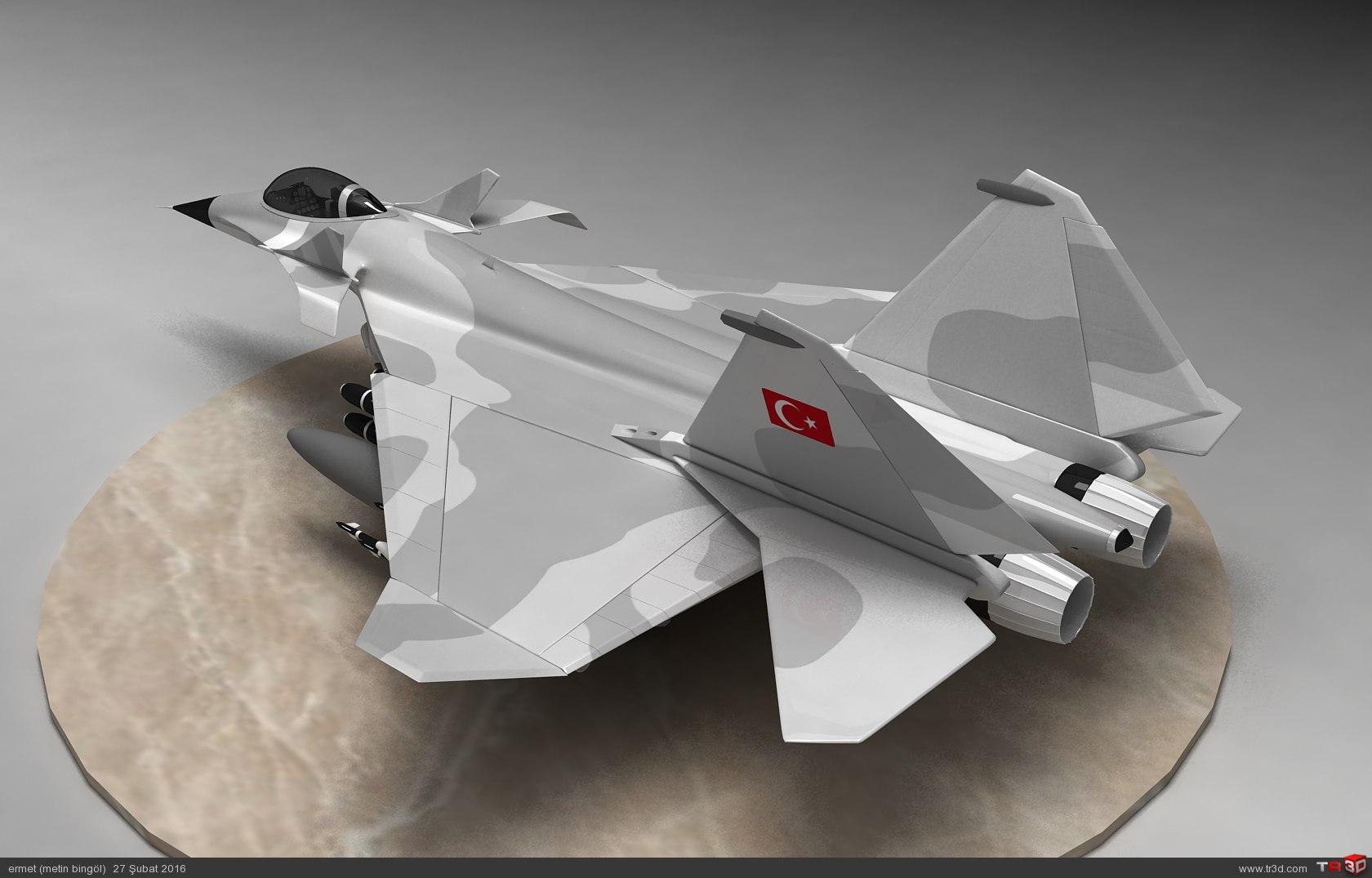 türk savaş uçağı metin serisi  (M 15) 3