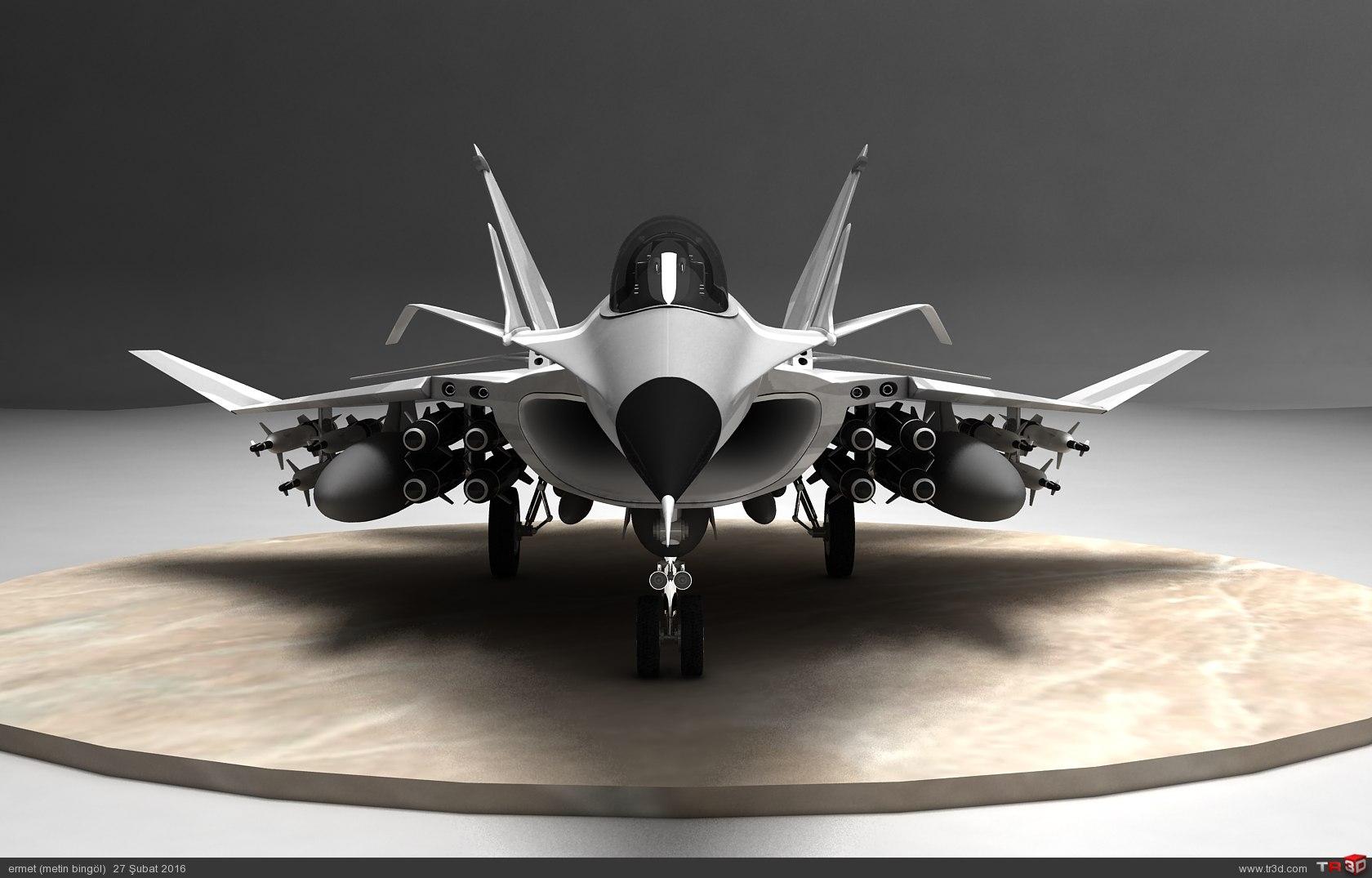 türk savaş uçağı metin serisi  (M 15) 4