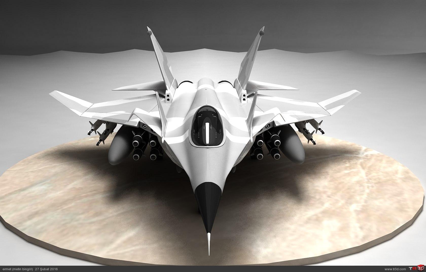 türk savaş uçağı metin serisi  (M 15) 5