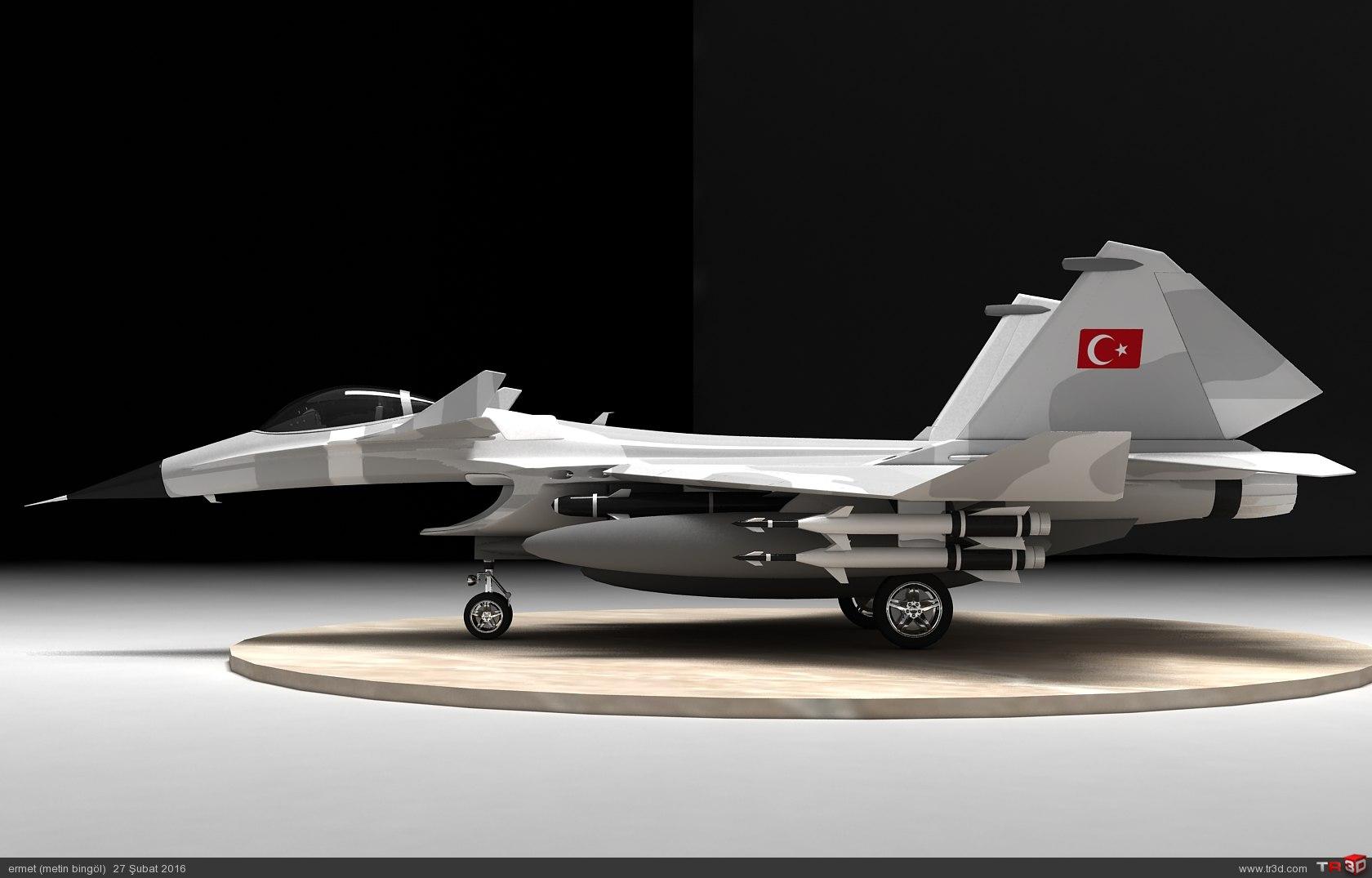 türk savaş uçağı metin serisi  (M 15) 6