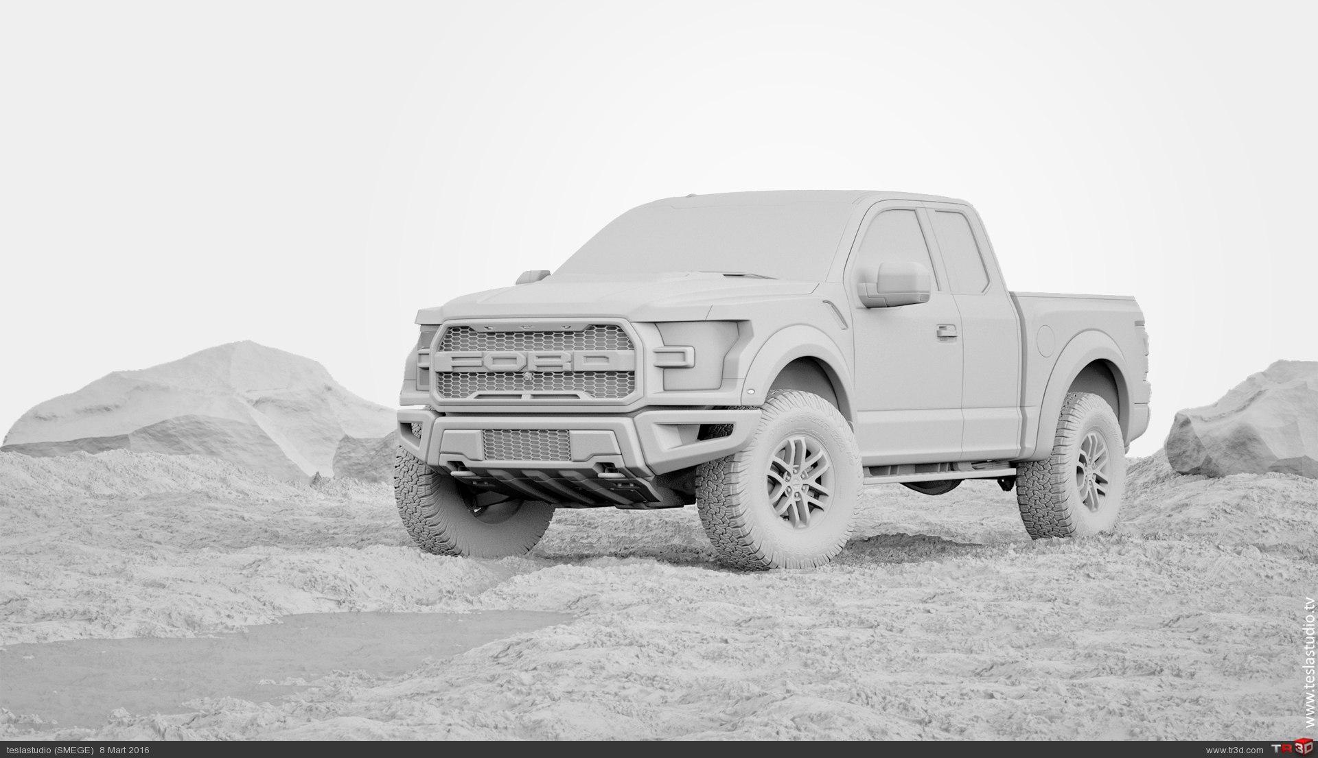 Ford Raptor 4