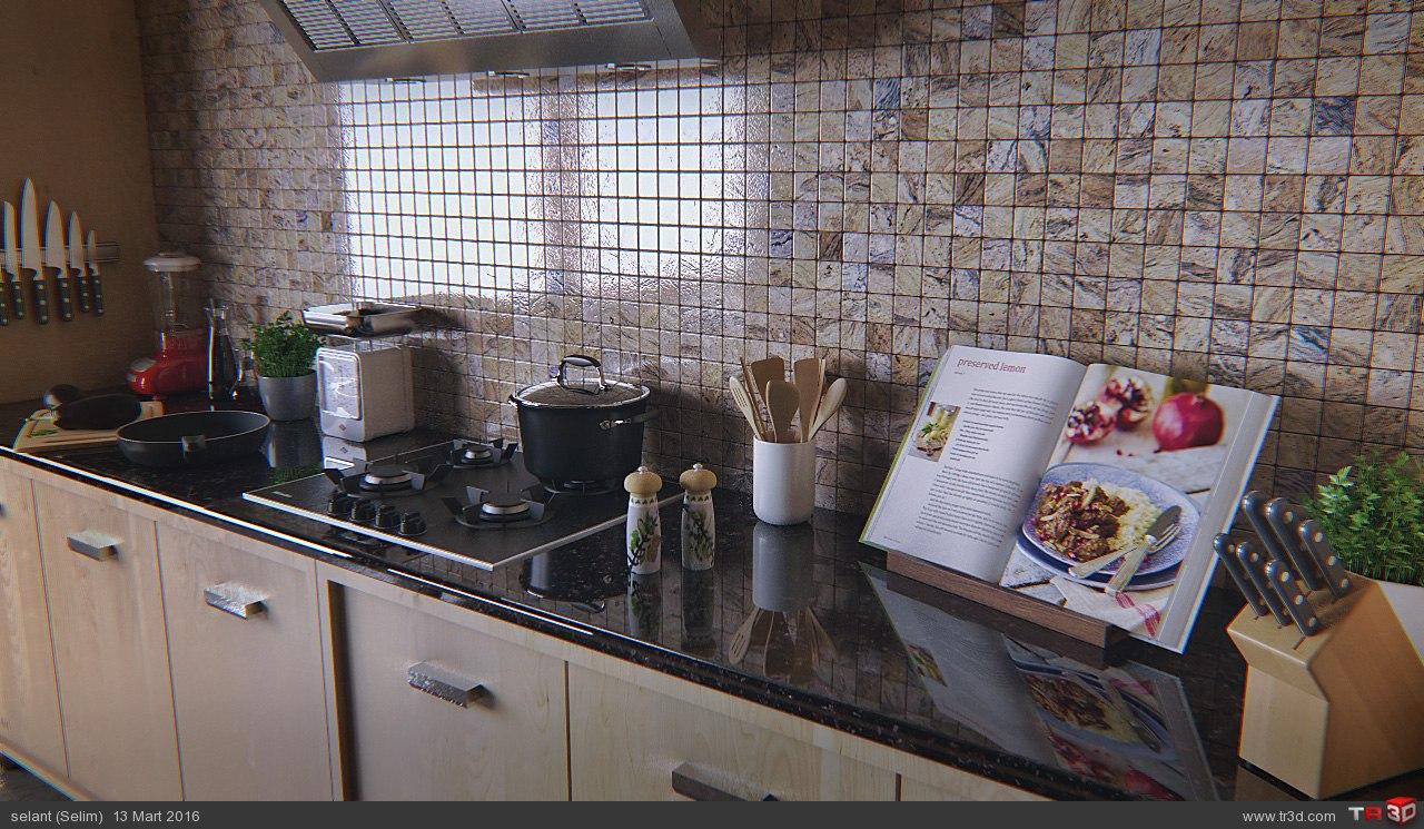 Modern mutfak 1