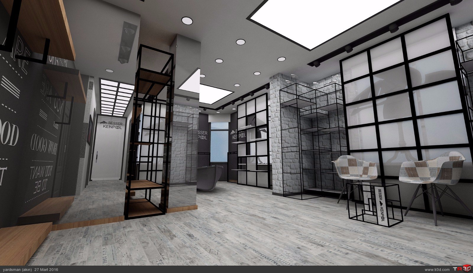 Showroom tasarımı osmanbey