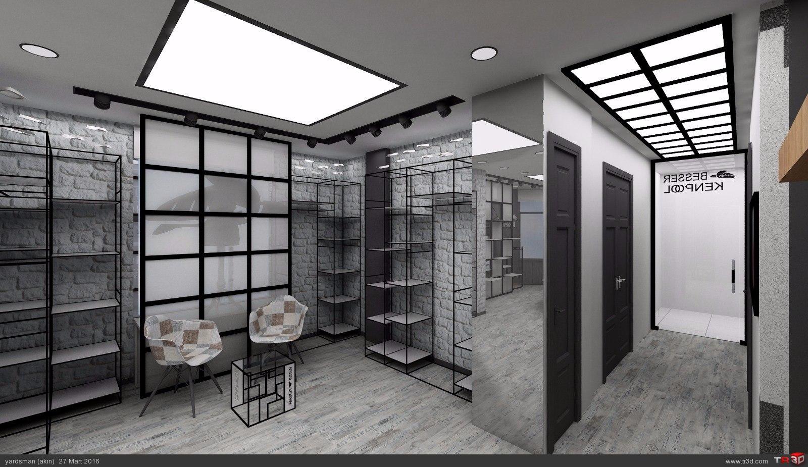 Showroom tasarımı osmanbey 1