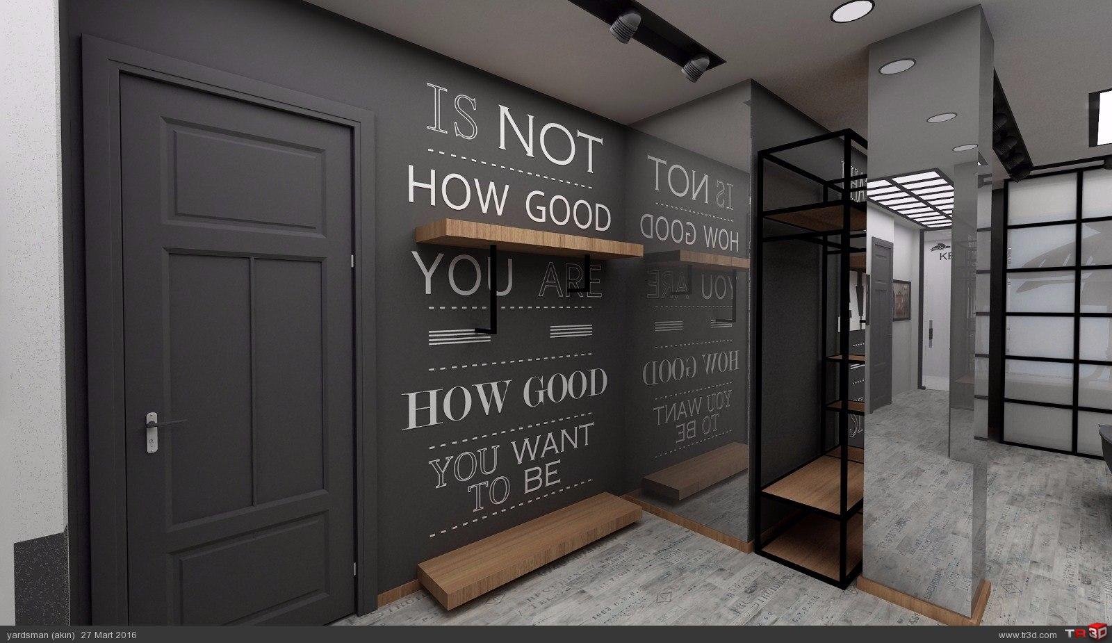 Showroom tasarımı osmanbey 3