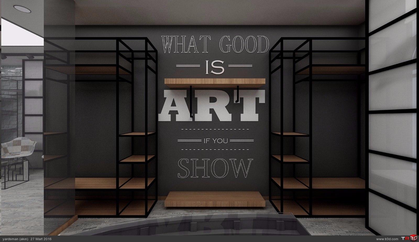 Showroom tasarımı osmanbey 4
