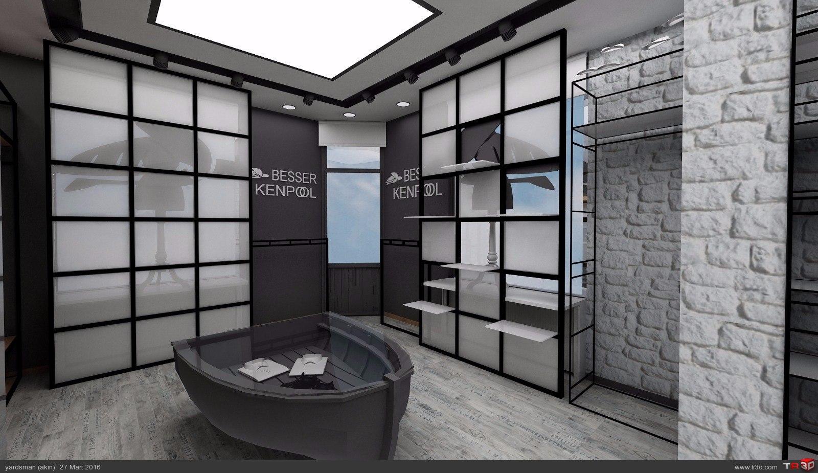 Showroom tasarımı osmanbey 6