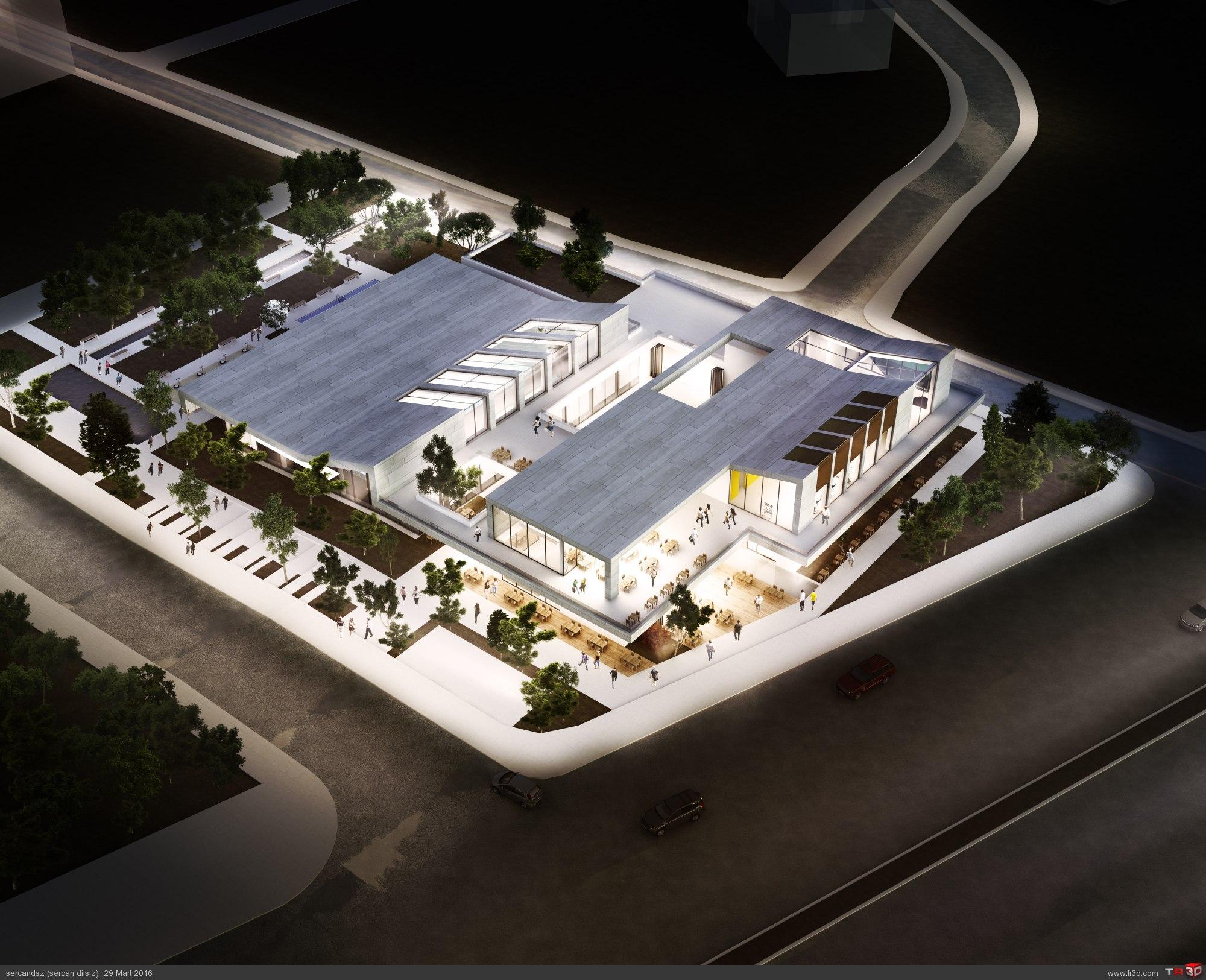 Çaycuma Spor Merkezi Mimari Proje Yarışması