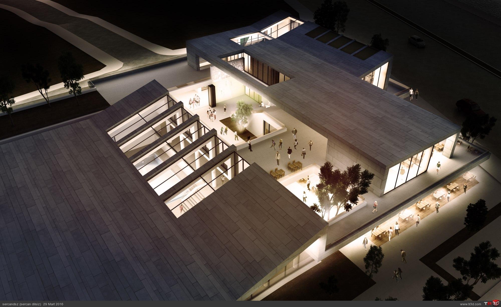 Çaycuma Spor Merkezi Mimari Proje Yarışması 2