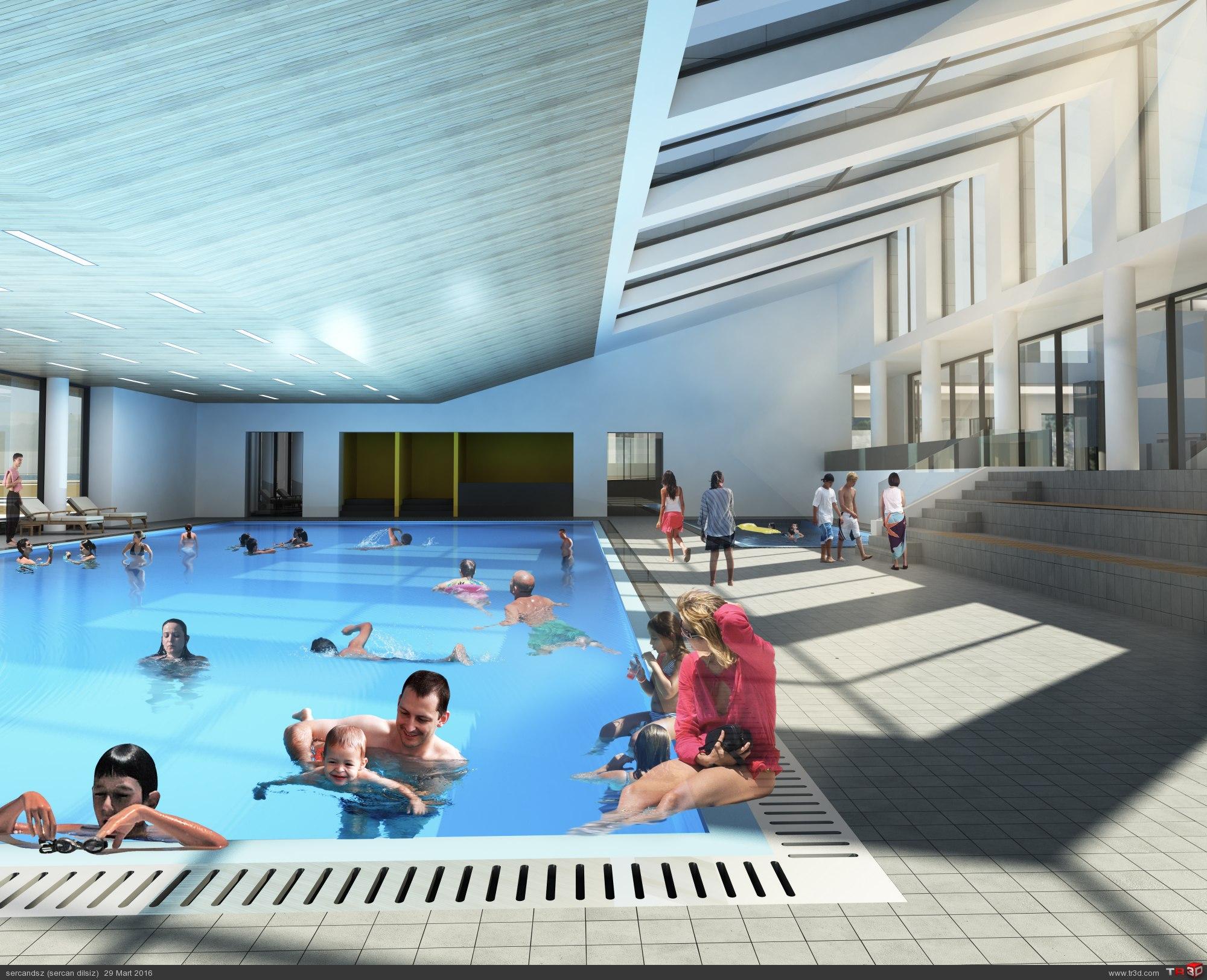 Çaycuma Spor Merkezi Mimari Proje Yarışması 6