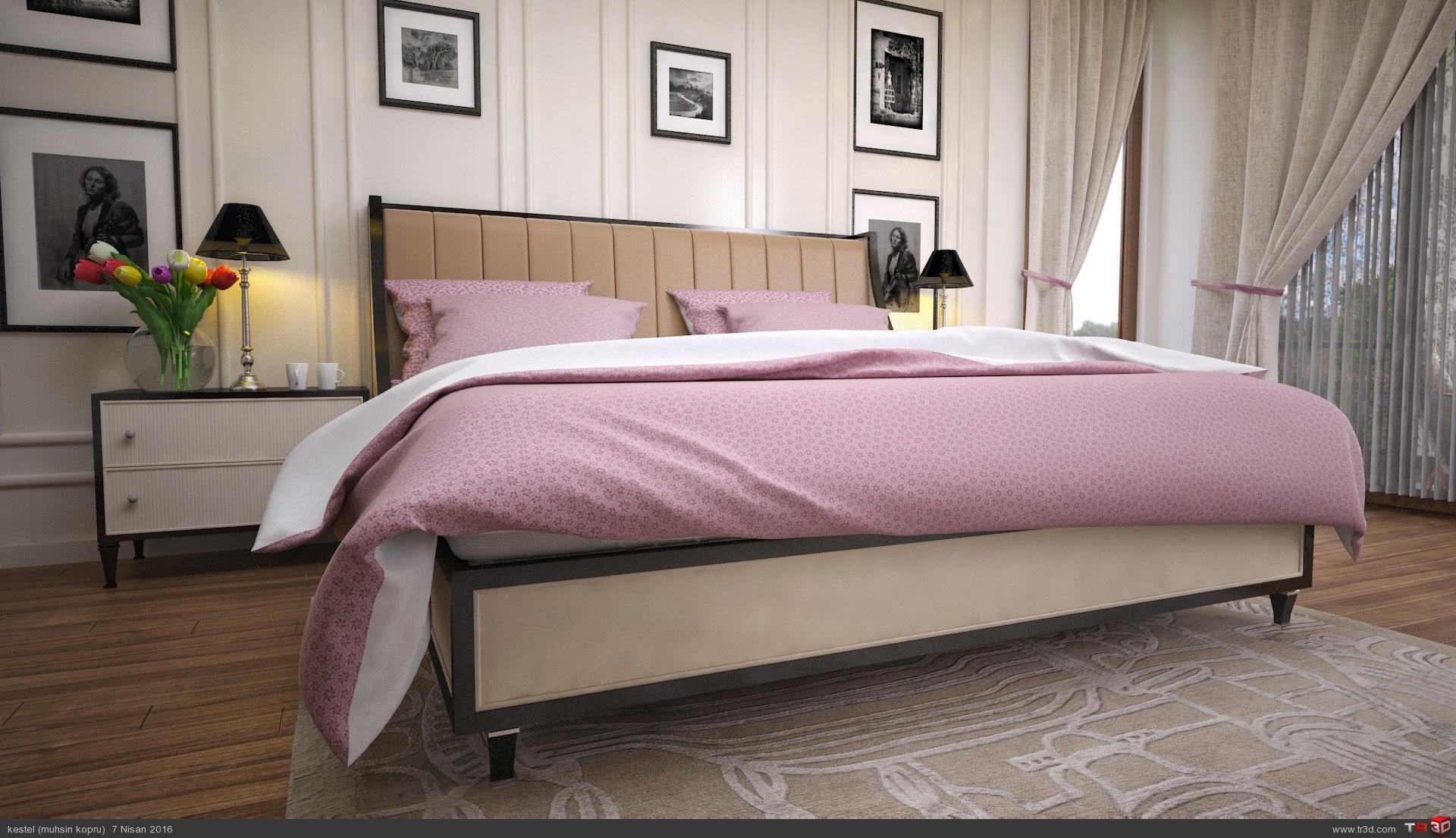 villa yatak odası 1