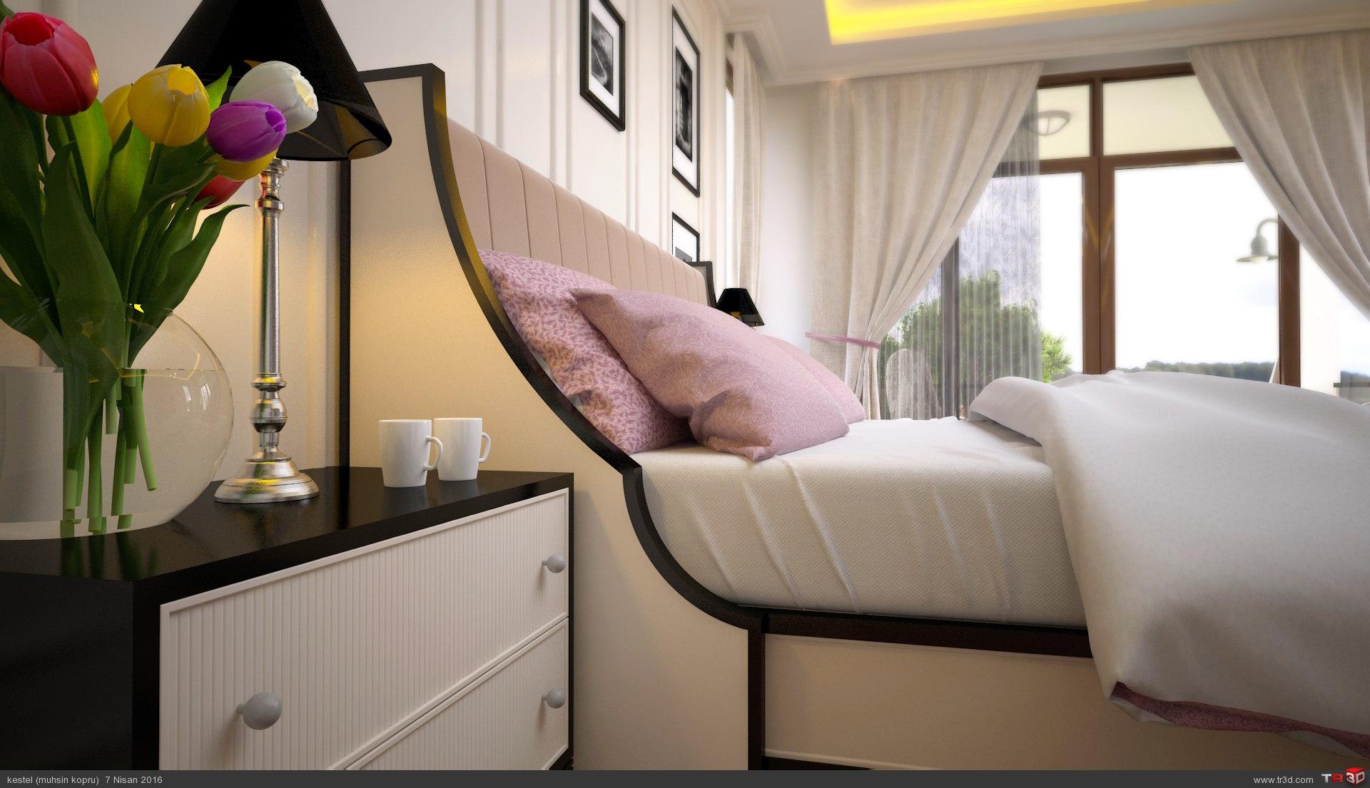 villa yatak odası 2