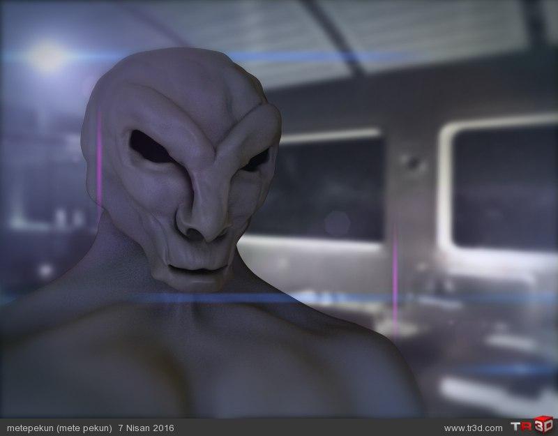 Sci fi Creature