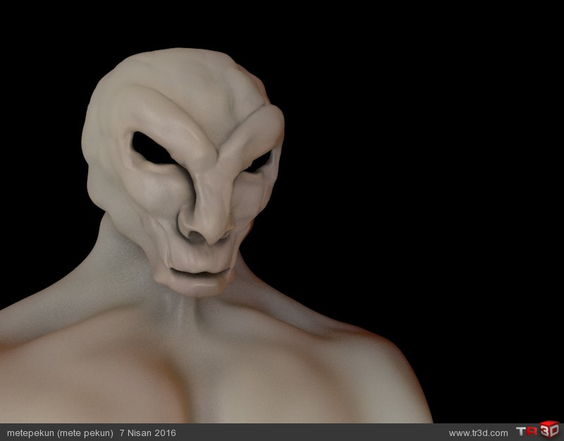 Sci fi Creature 1