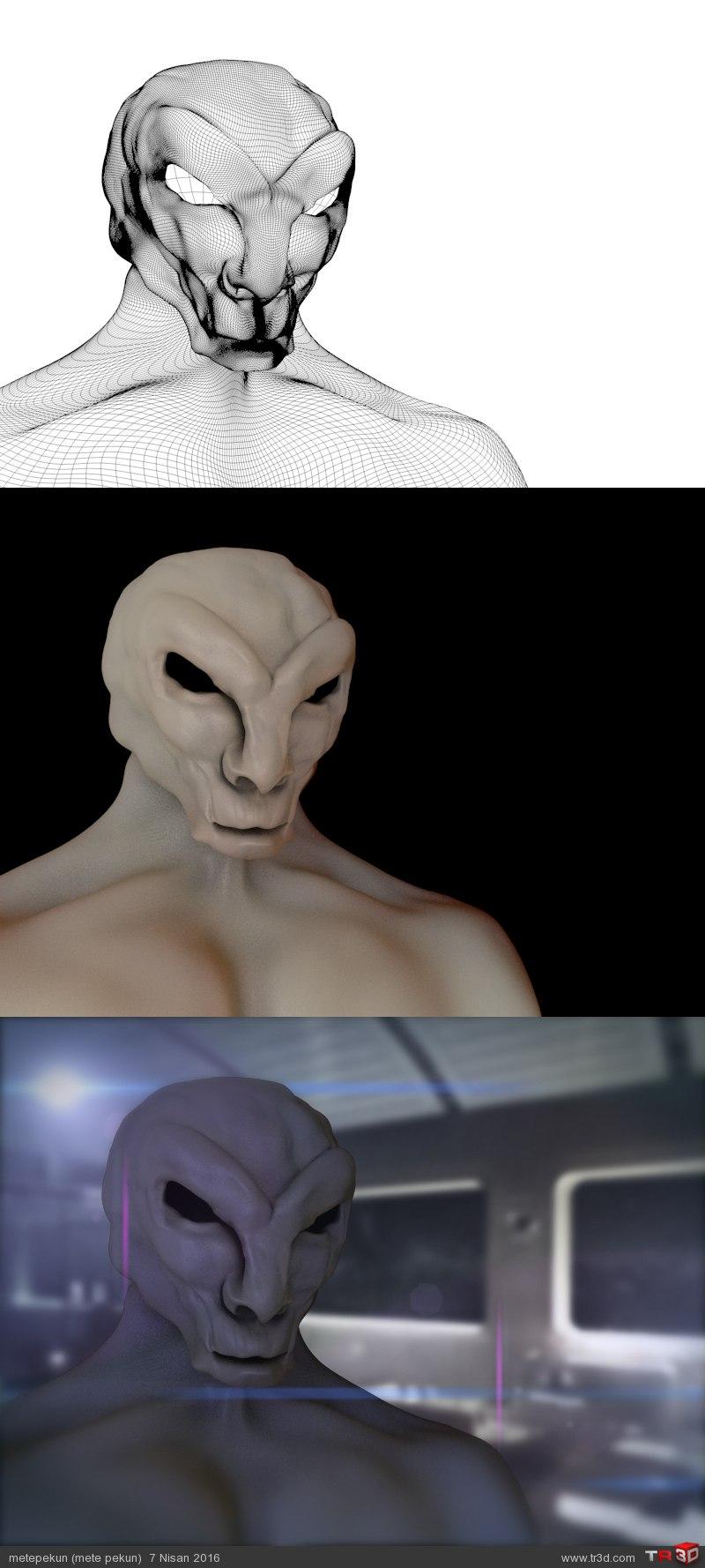 Sci fi Creature 2